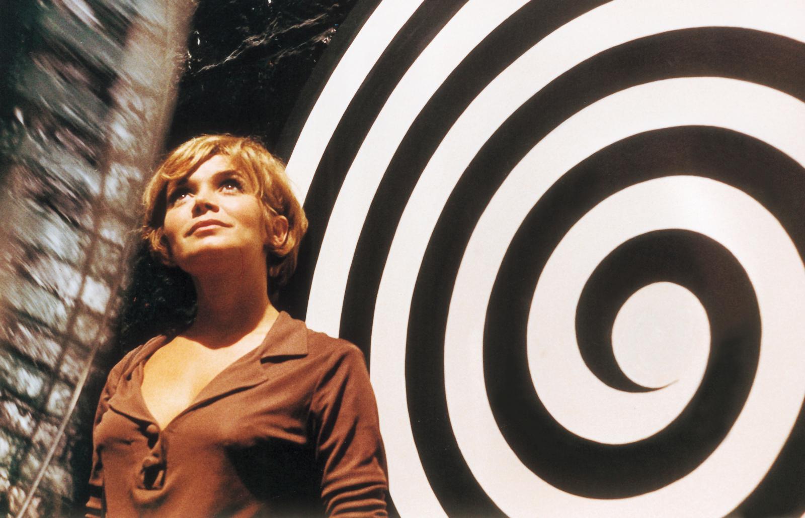 Élisabeth Wiener dans LaPrisonnière(1967), d'Henri-Georges Clouzot.