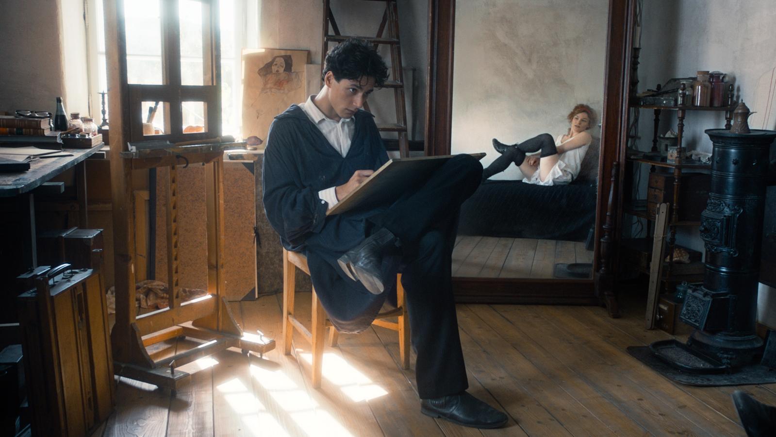Noah Saavedra dans Egon Schiele (2016), de Dieter Berner.