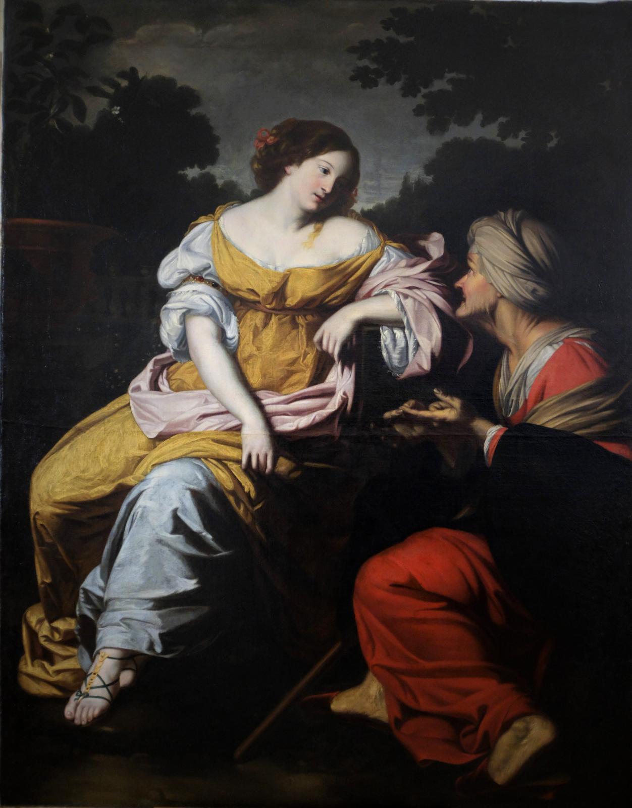Nicolas Régnier, Vertumne et Pomone, huile sur toile, coll. part, non reproduite dans le catalogue.