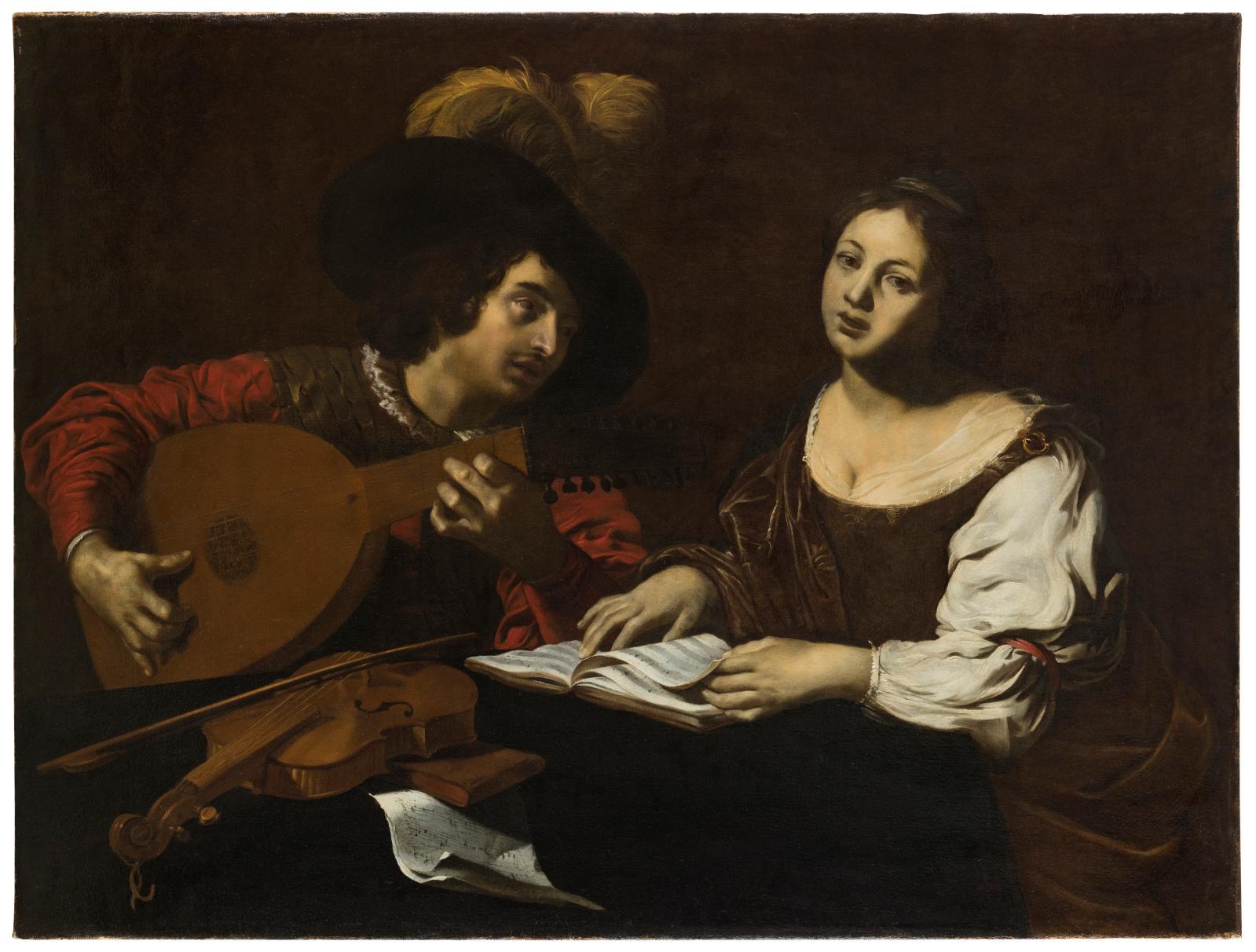 Nicolas Régnier, Le Concert, collection particulière.