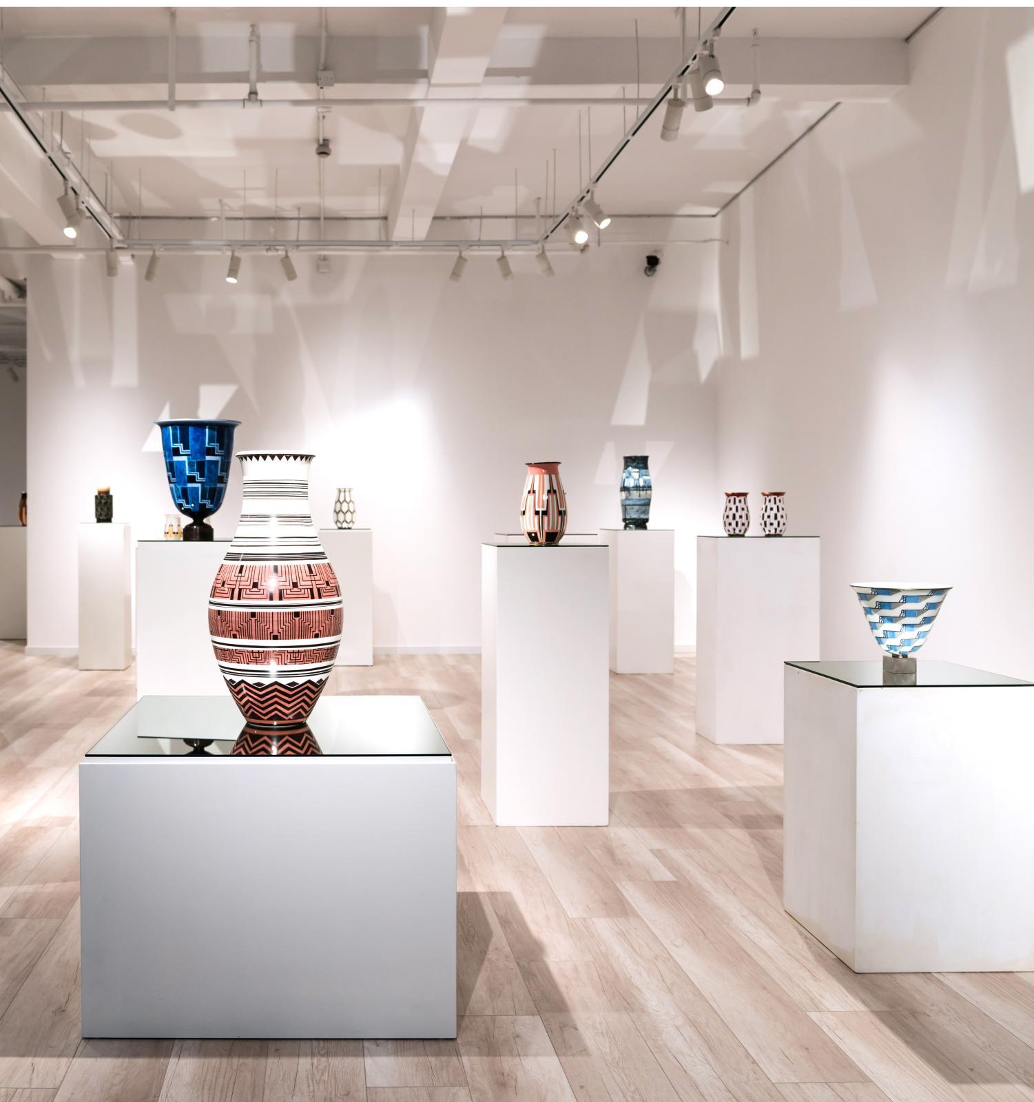 Magnificience of Art Deco (I) Manufacture de Sèvres: «Revival of the Creativity»à la galerie Dumonteil Shanghai.