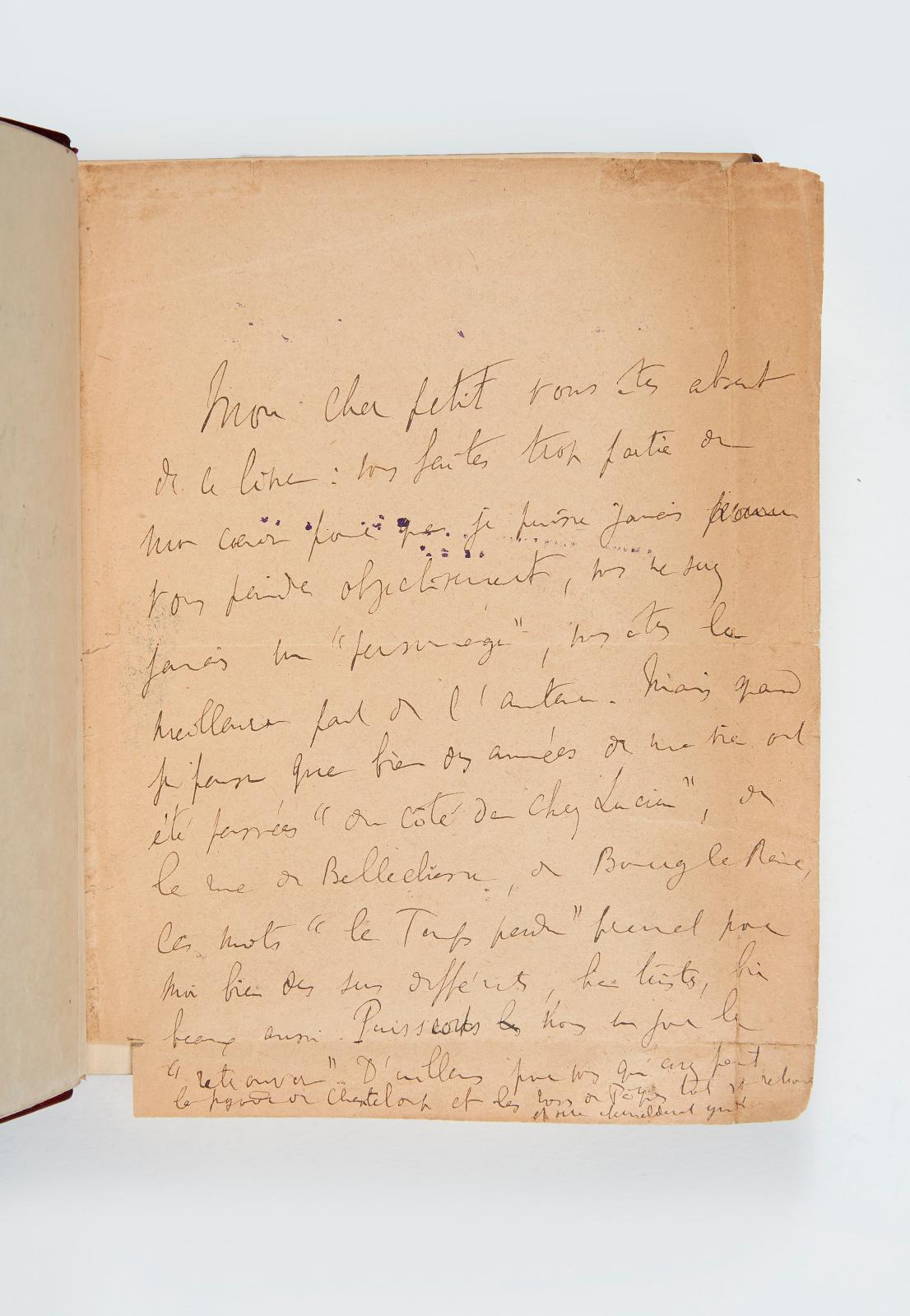 Marcel Proust(1871-1922), Du côté de chez Swann, Paris, Bernard Grasset, 1914, exemplaire de l'édition originale, no1 des cinq premiers sur papier d