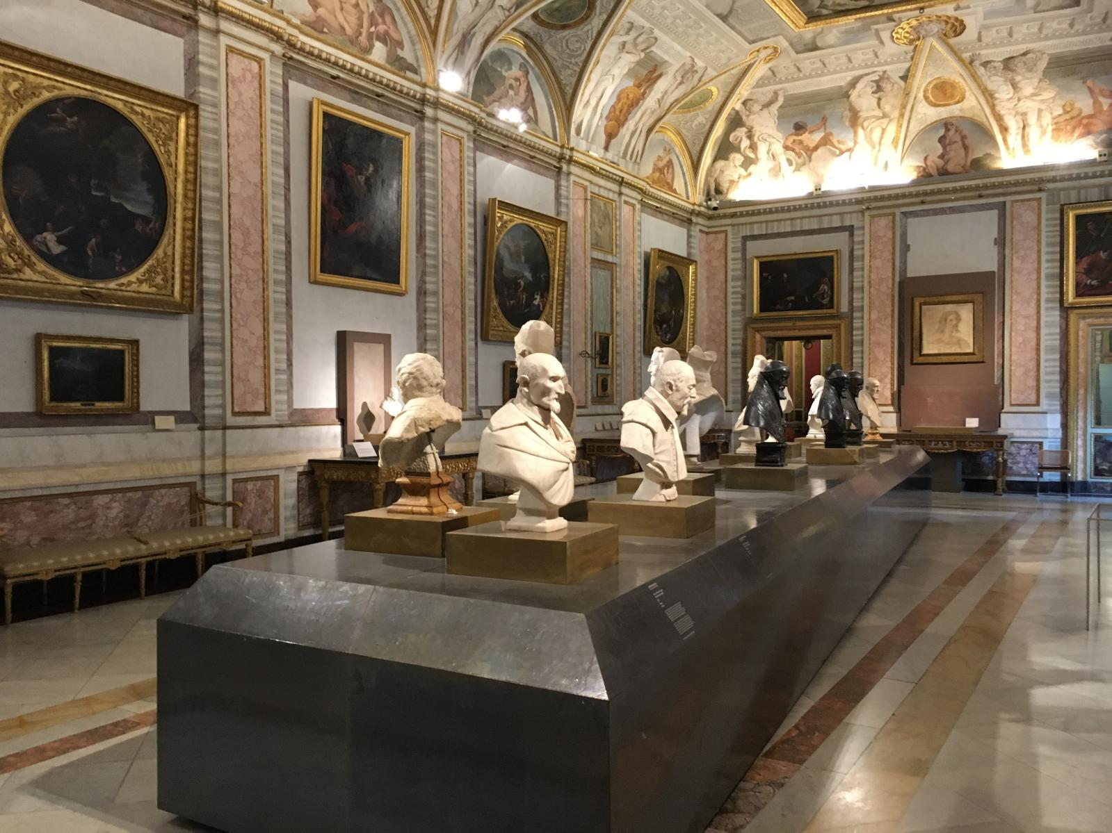 Exhibition view, Galleria Borghese, Rome.