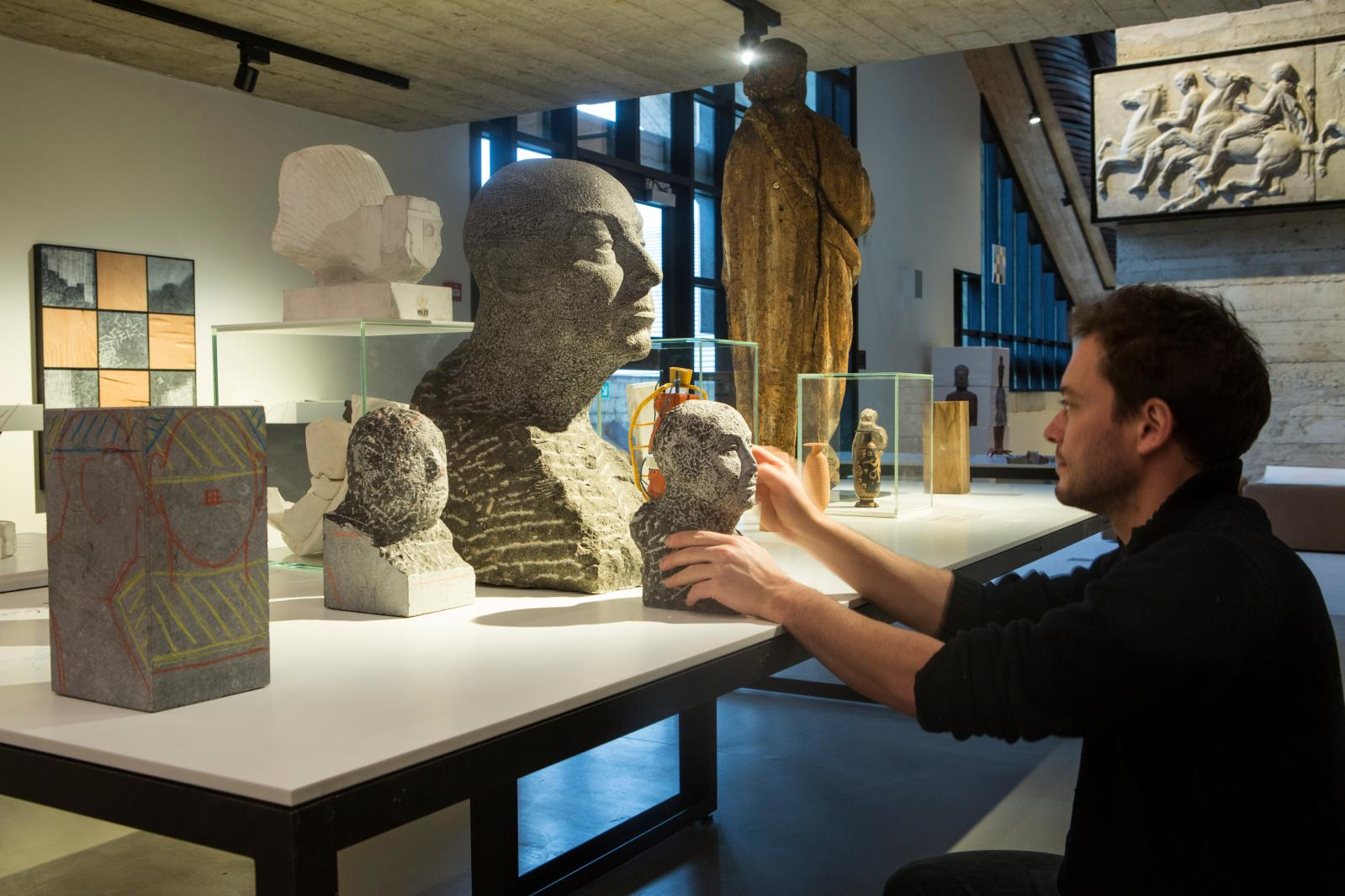 Laboratoire de sculpture, musée de Louvain.