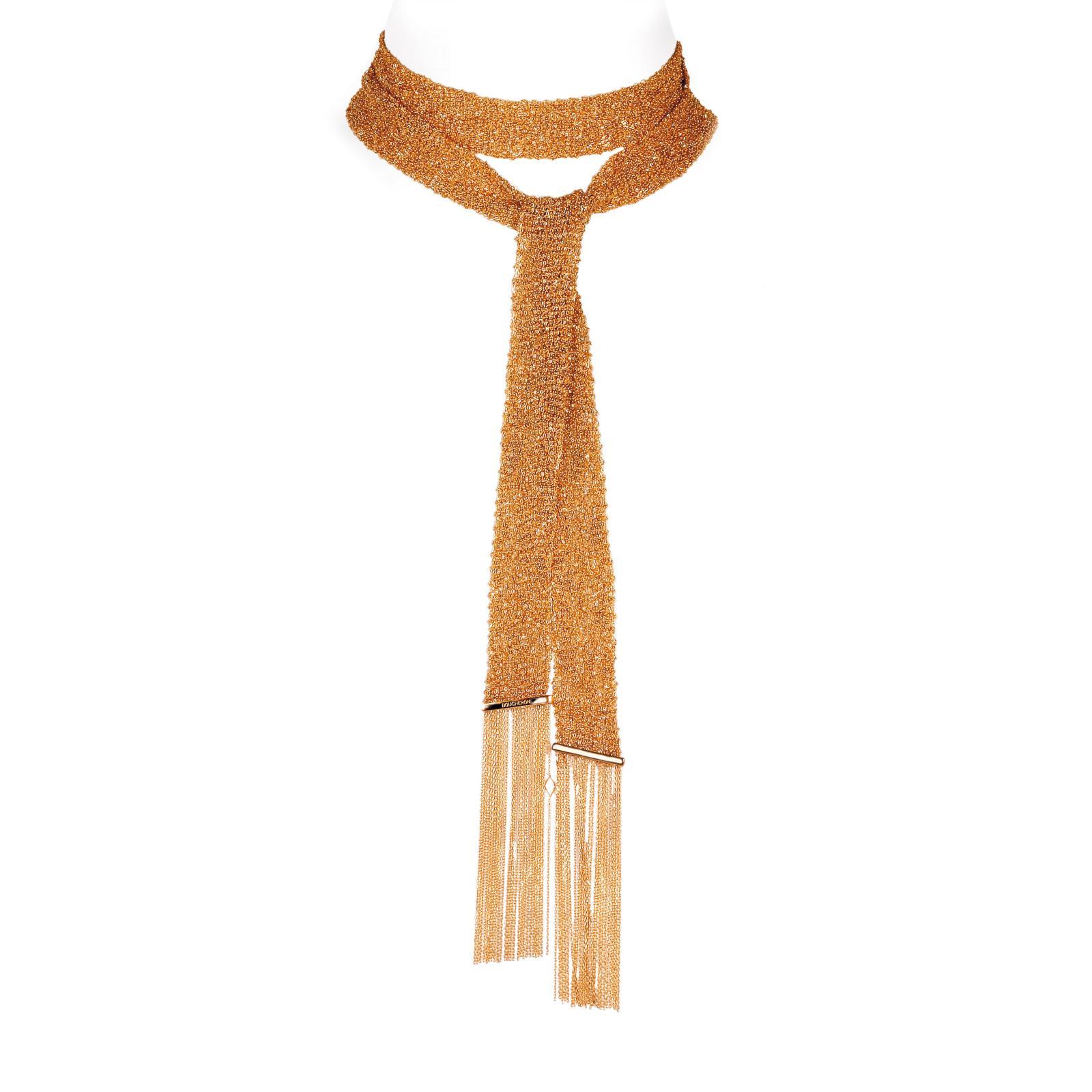 Le collier écharpe Delilah, commandé par le grand-duc Vladimir, thématique intemporelle de la maison.