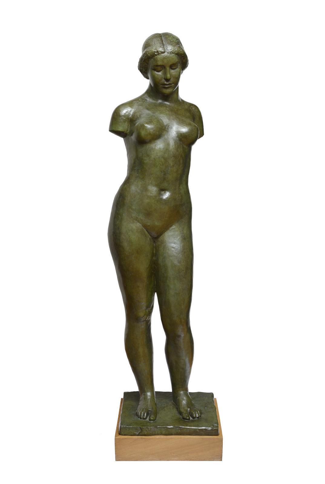 Aristide Maillol(1861-1944), Harmonie, 1erétat, 1940-1944, bronze, fonte Émile Godard, h.155cm.
