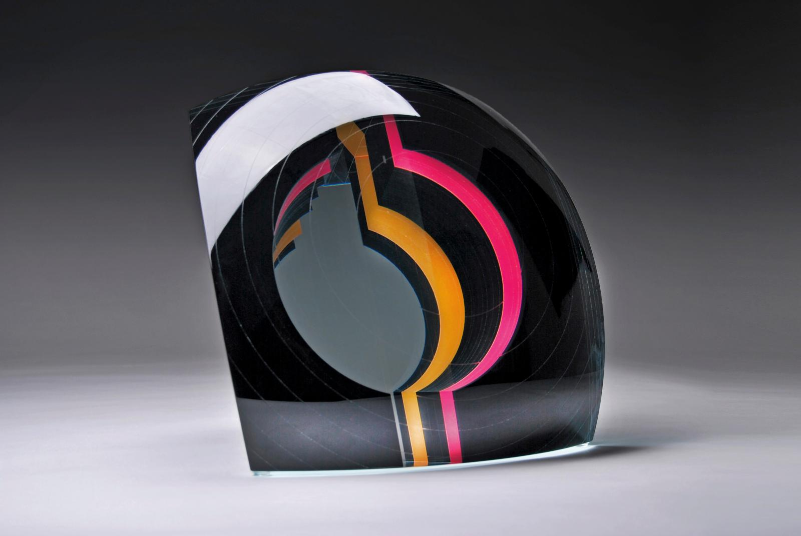 Gyorgy Gaspar, Black HoleII, 2015, 20x20x12cm.