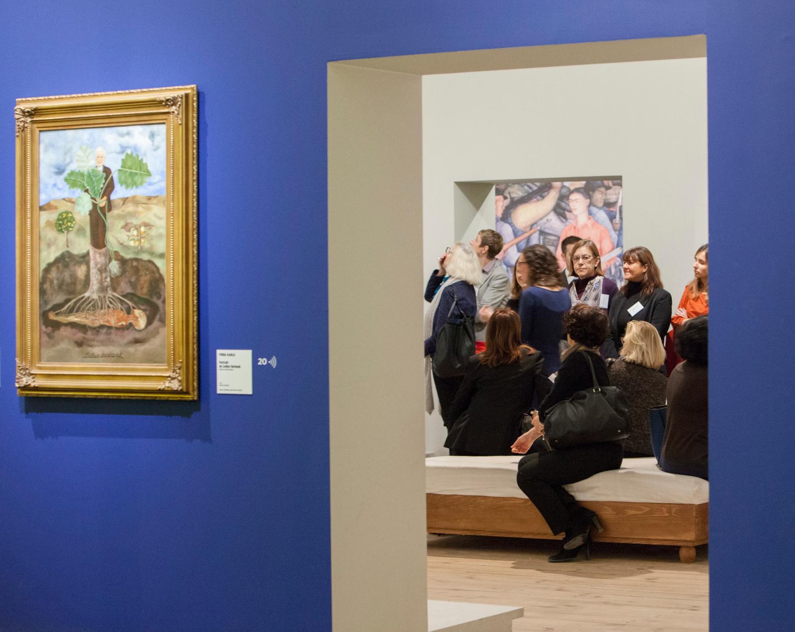 Exposition «Frida Kahlo/Diego Rivera» au musée de l'Orangerie.