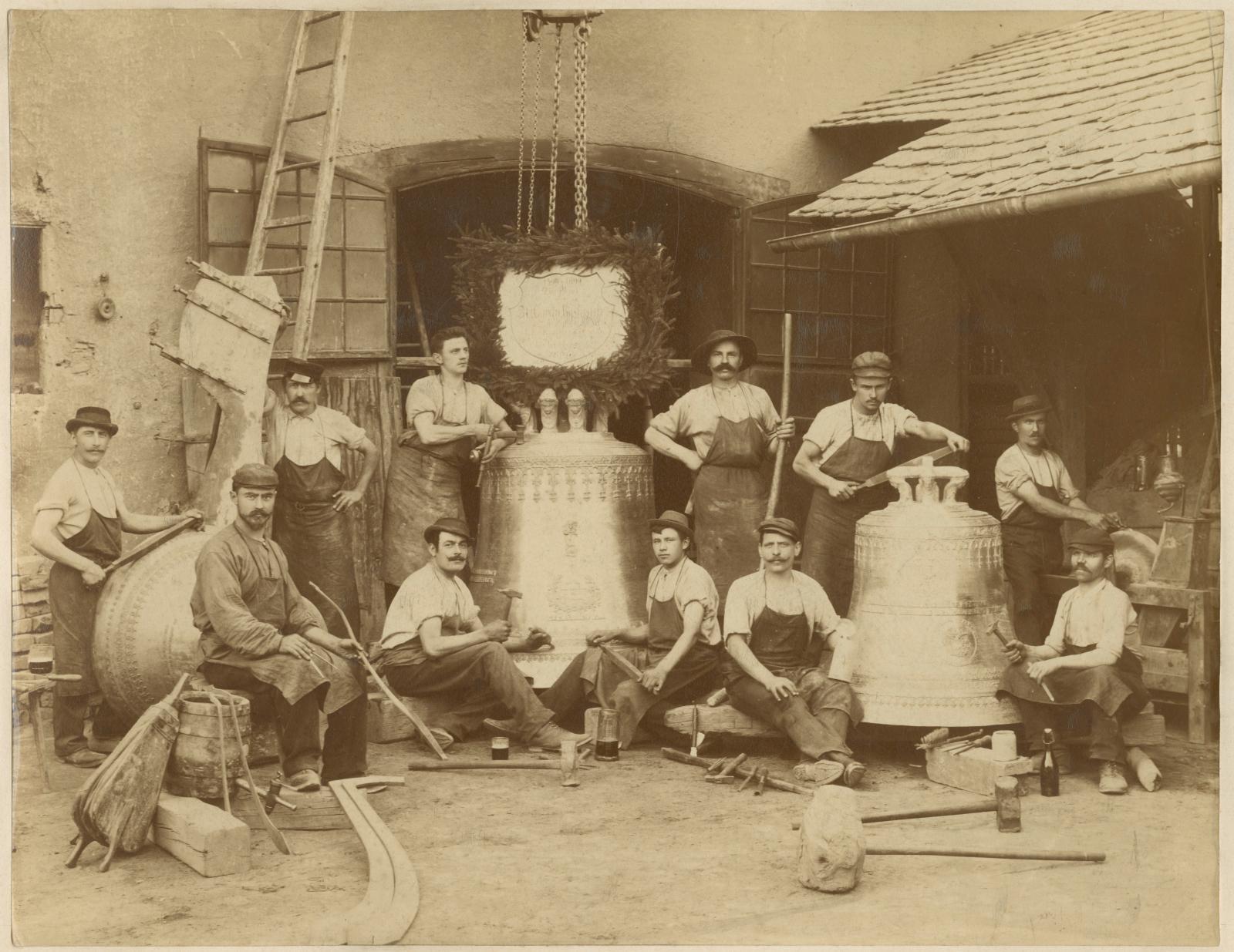 La Fonderie Grassmayr en 1899.