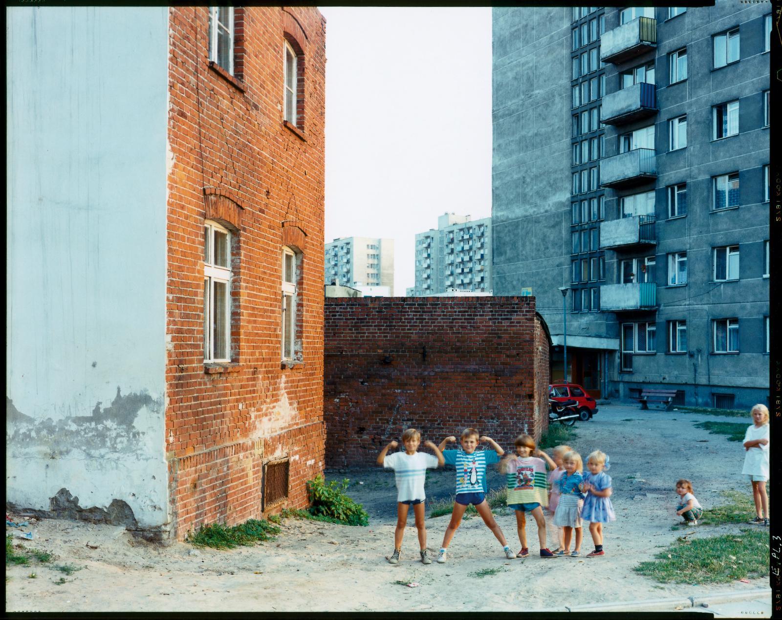Guido Guidi (né en 1941), Malbork, Polonia, août 1994. Don du Comité pour la photographie, société des Amis du musée d'Art moderne de la Ville de Pari