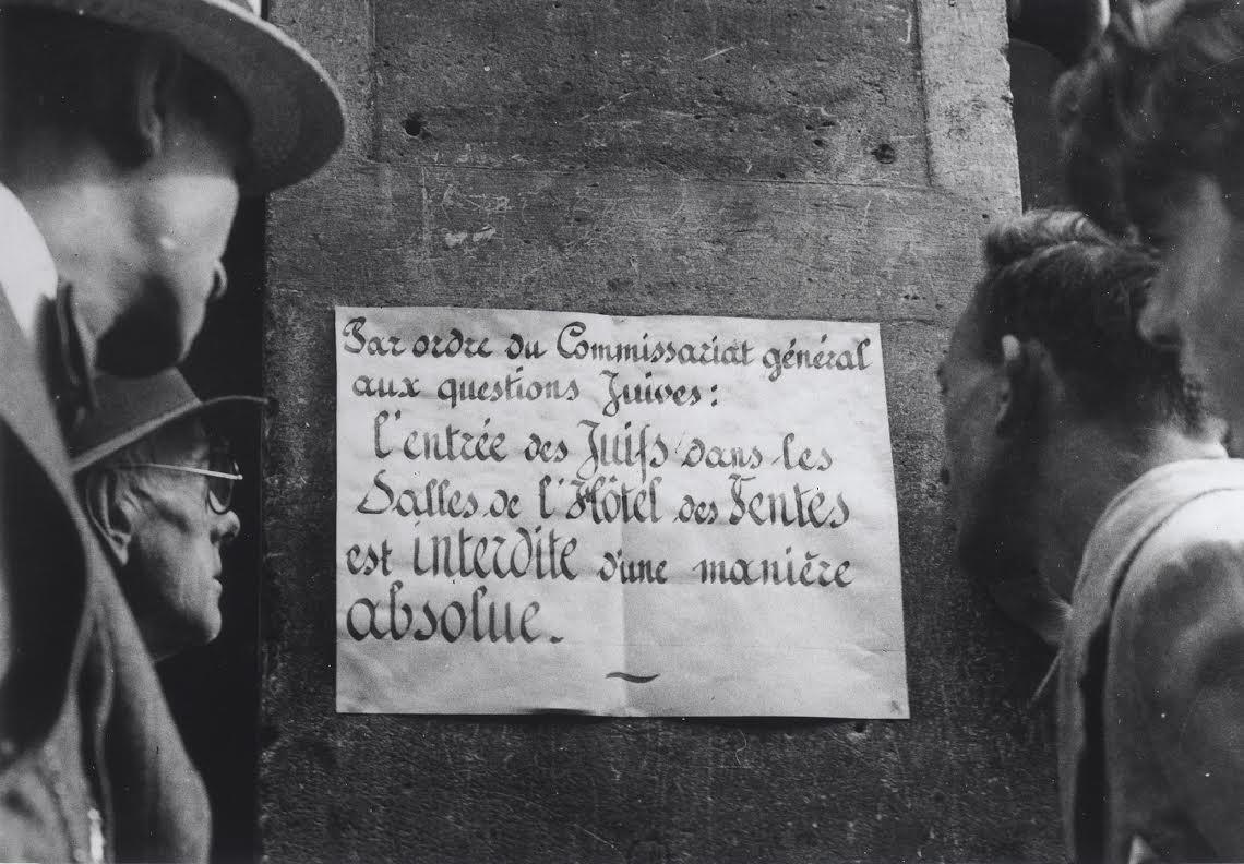 Photo prise à Paris, le 17juillet 1941.