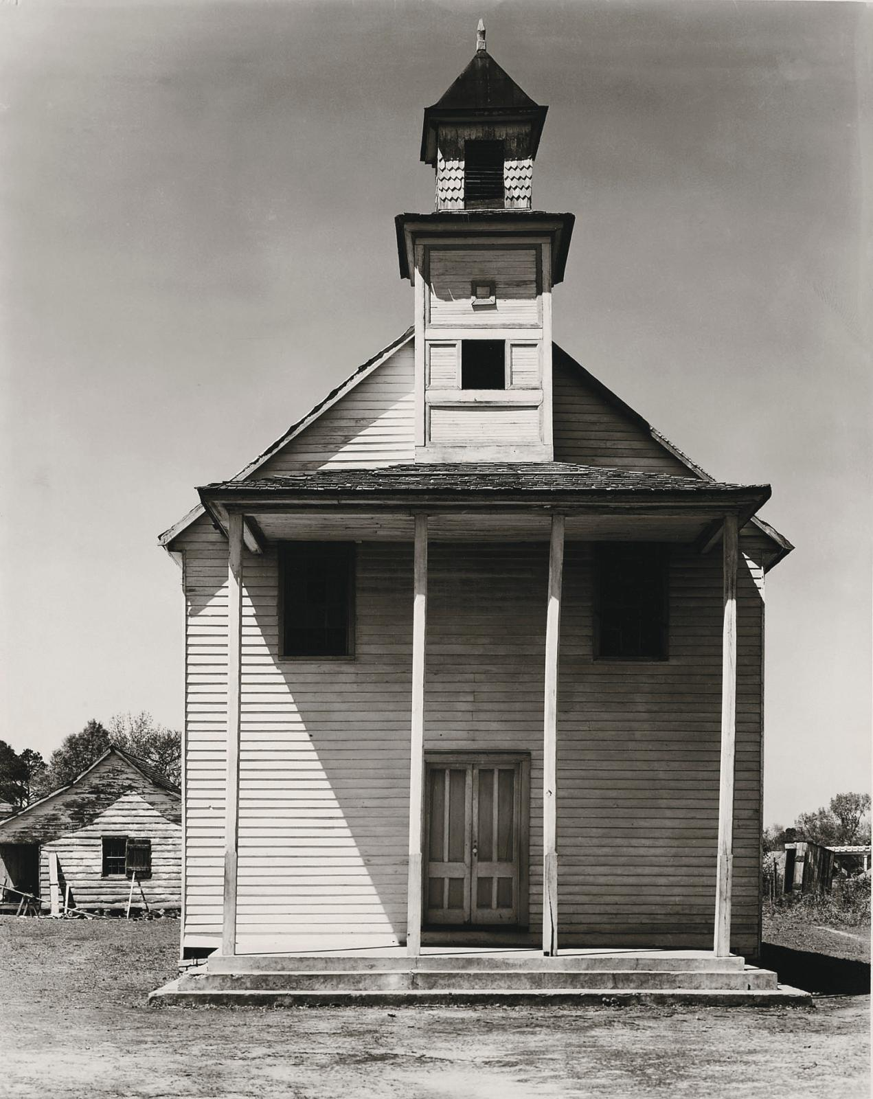 "Walker Evans (1903-1975), ""Negroes' Church, South Carolina"", March, 1936, gelatin silver print, 24.1 x 19.1 cm, National Gallery of Canada."