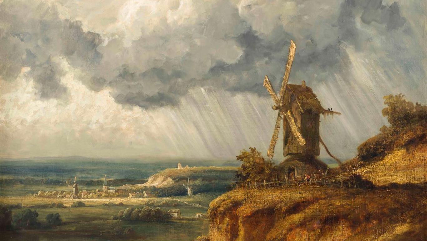 Cote Artiste Peintre Francais georges michel, le « ruisdael français »