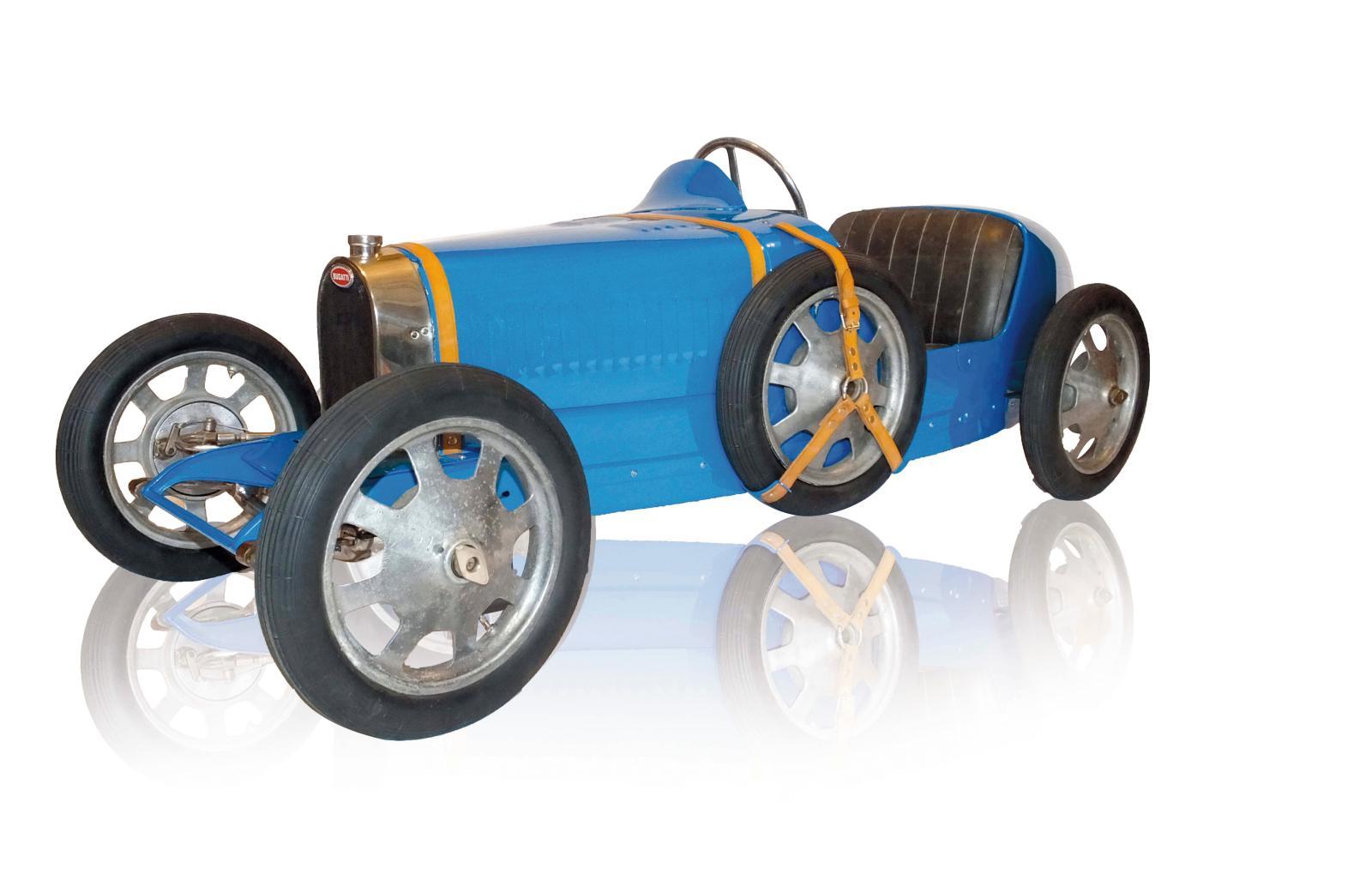 86800€ Bugatti Baby type52, réduction à l'échelle1/2 de la type35 GrandPrix, node série186, première série des «châssis courts», sans doute 19