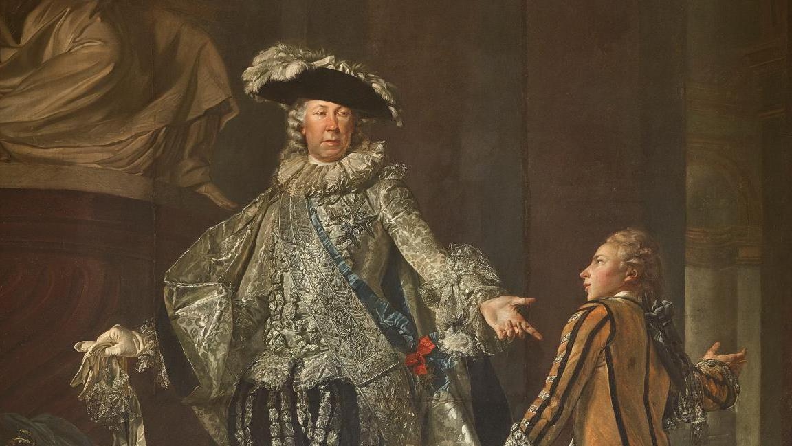 L'amant de la Du Barry en majesté