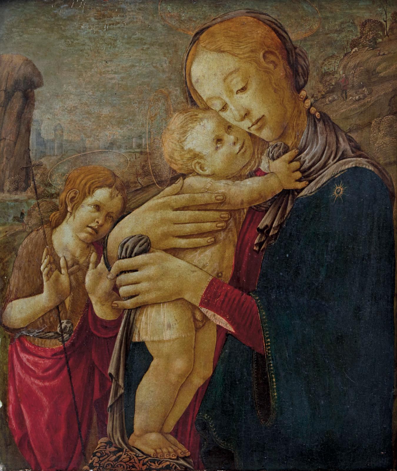 Selon Vasari, le Florentin Jacopo del Arcangelo del Sellaio (1422-1493) a fait son apprentissage dans l'atelier de Filippo Lippi où il a dû croiser Sa