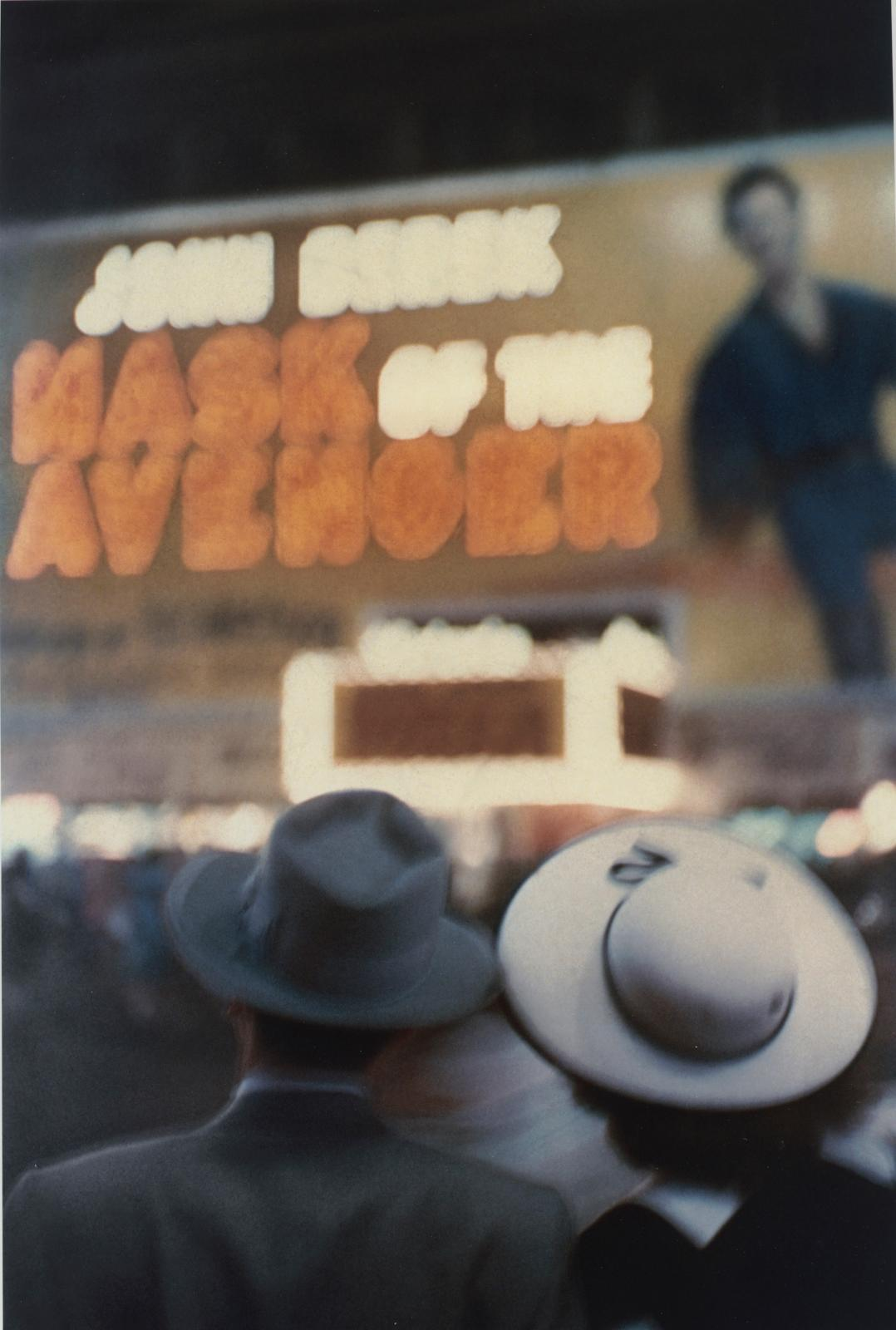 "Louis Faurer (1916-2001), ""New York, NY"", c. 1950, chromogenic print."