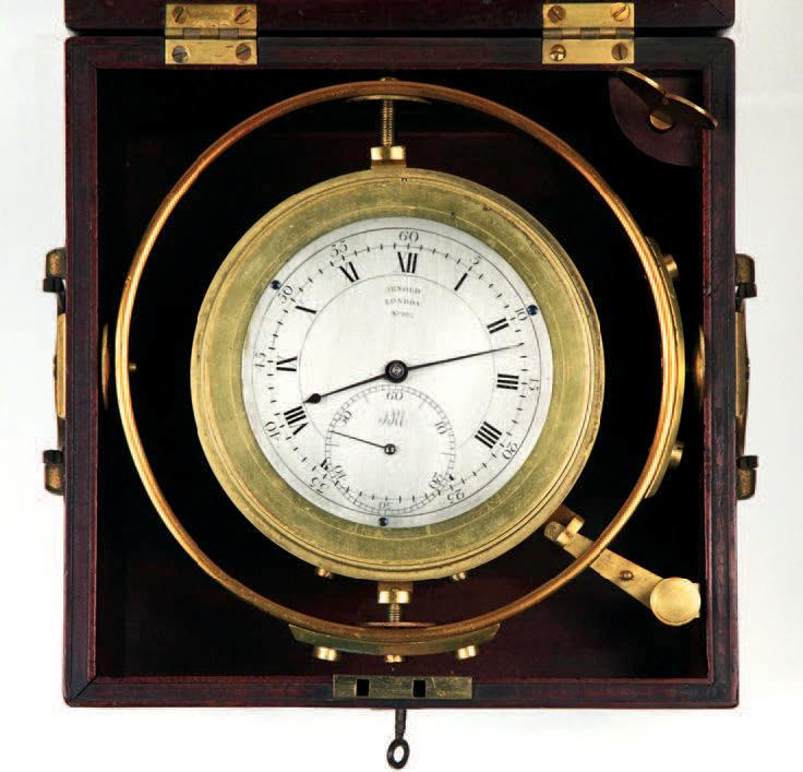 Chronomètre à deux jours de réserve de marche, vers 1797. Paris, Drouot, 22juin2009. Chayette-Cheval SVV. M. Turner. 6618€ frais compris.