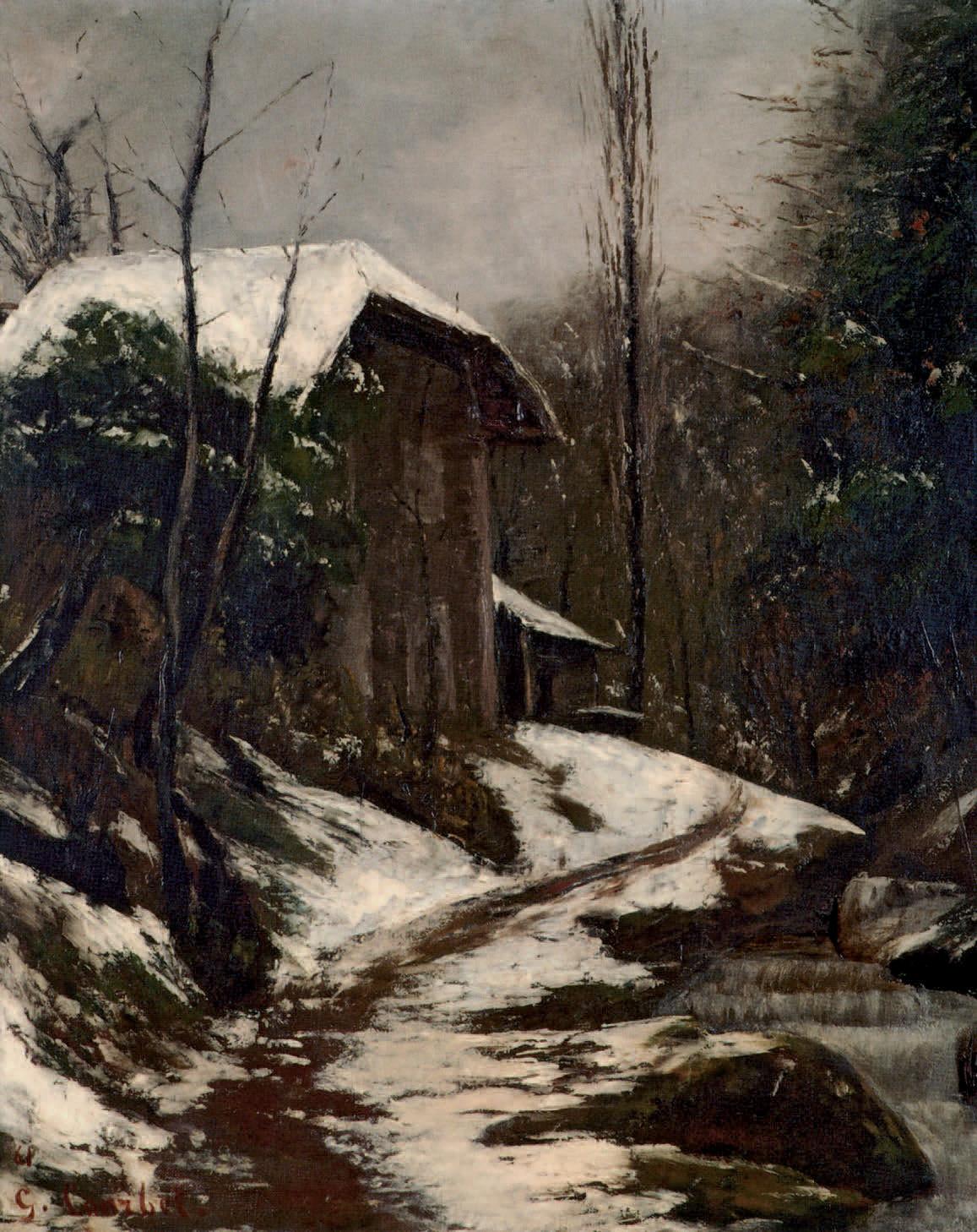Gustave Courbet De L Ombre A La Lumiere