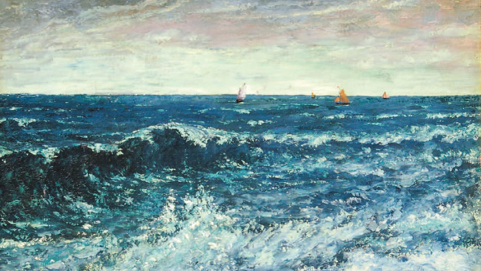 Gustave Courbet de l\'ombre à la lumière