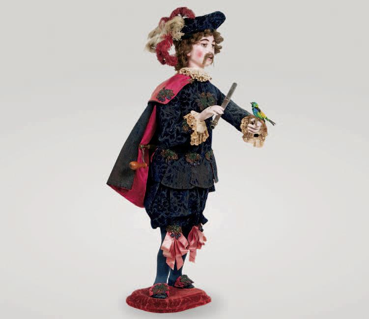 Gustave Vichy, Le Dresseur d'oiseau ou L'Oiseleur jouant de la flûte, 1895-1900, h.110cm.Chartres, 20mai2007. Galerie de Chartres SVV.287500€ fr
