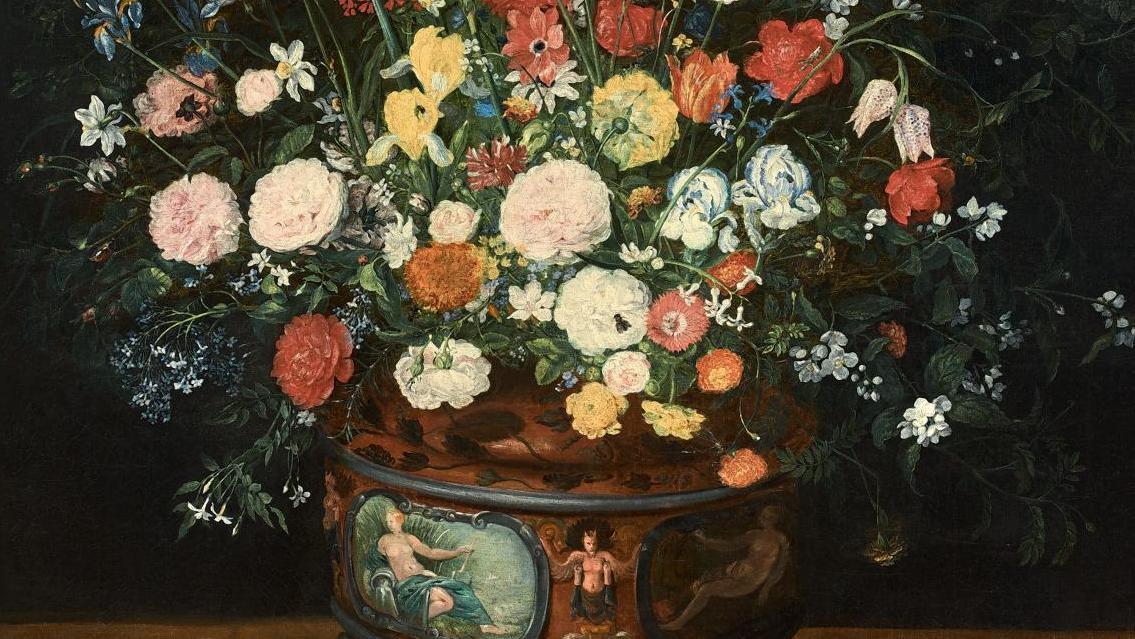 Les peintres flamands de fleurs au XVIIe siècle