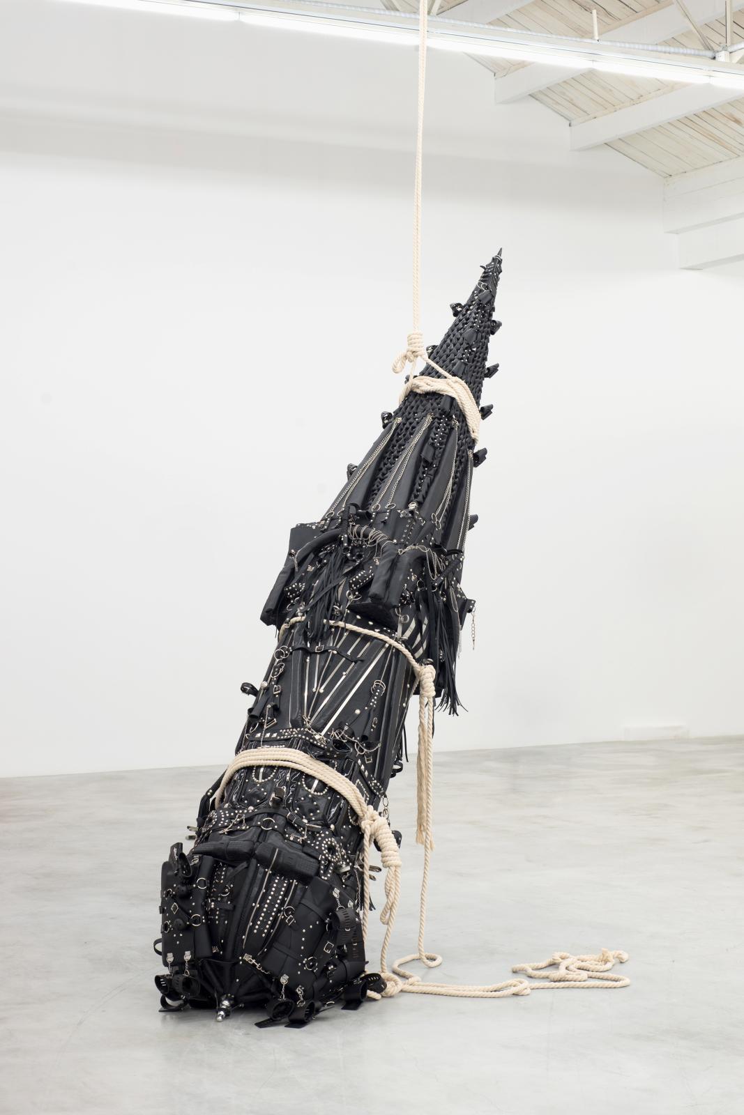 Xu Zheng (né en 1977), Missile of Love, 2013, installation, collection Lin Han. ©Collection Lin Han, Beijing