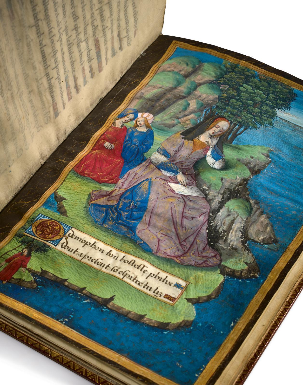 Octavien de Saint-Gelais (1466/1468-1502), Epistres d'Ovide (traduction de cinq des Heroïdes d'ovide) [suivi de] trois poèmes, attribués à Octavien de