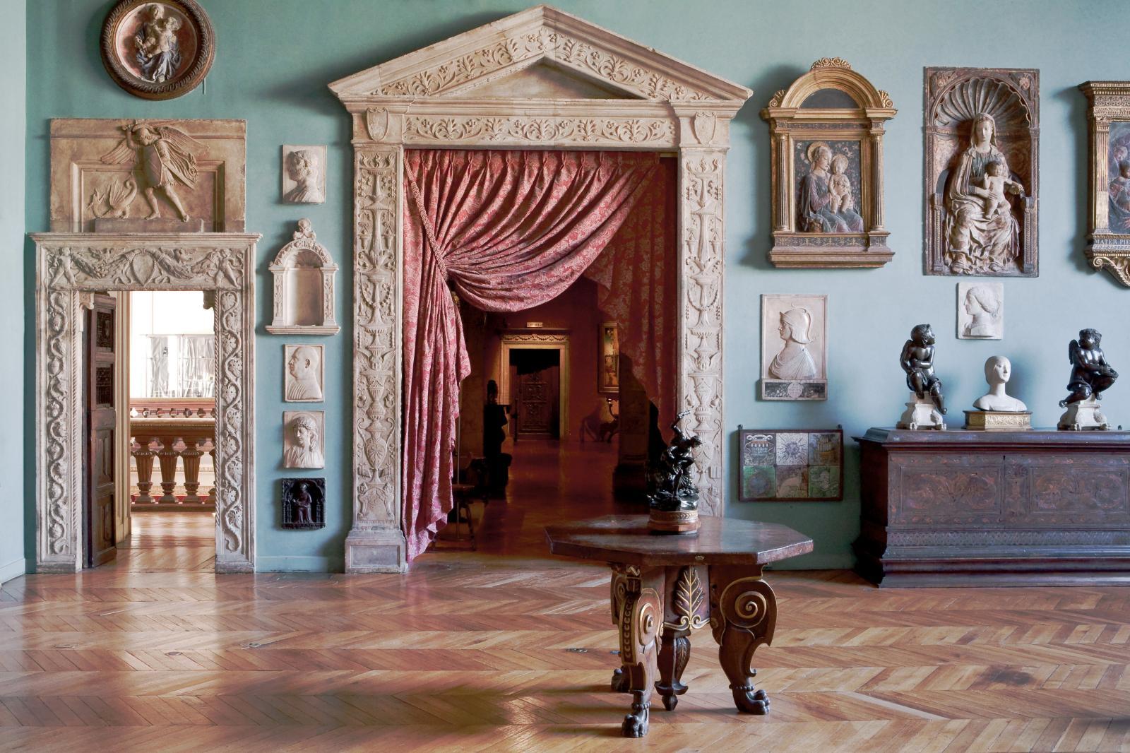 La salle florentine du musée Jacquemart-Andréà Paris. ©Culturespaces / Sophie Lloyd