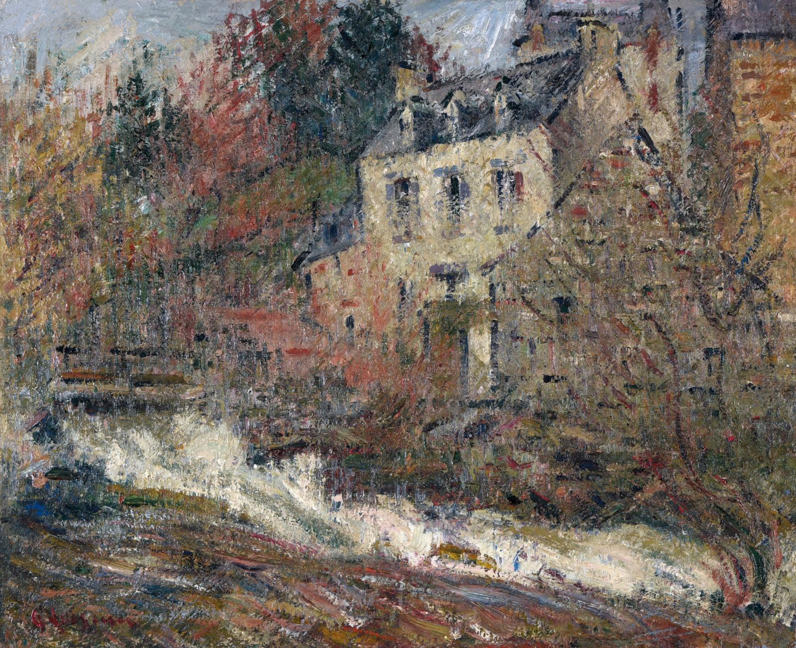 Richard Edward Miller (1875-1943) rêve de Paris dans sa ville de Saint-Louis (Missouri) jusqu'à ce jour de 1898, où il se fixe dans la capitale. Il y