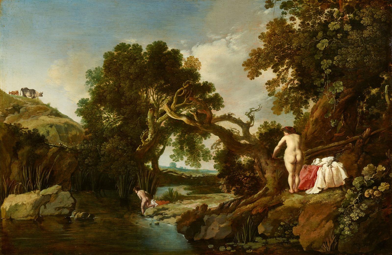 Amour fusionnel Moses Van Uyttenbroeck (1600-1646) savait que cette composition faussement paisible, serait comprise de son entourage, celui des amate