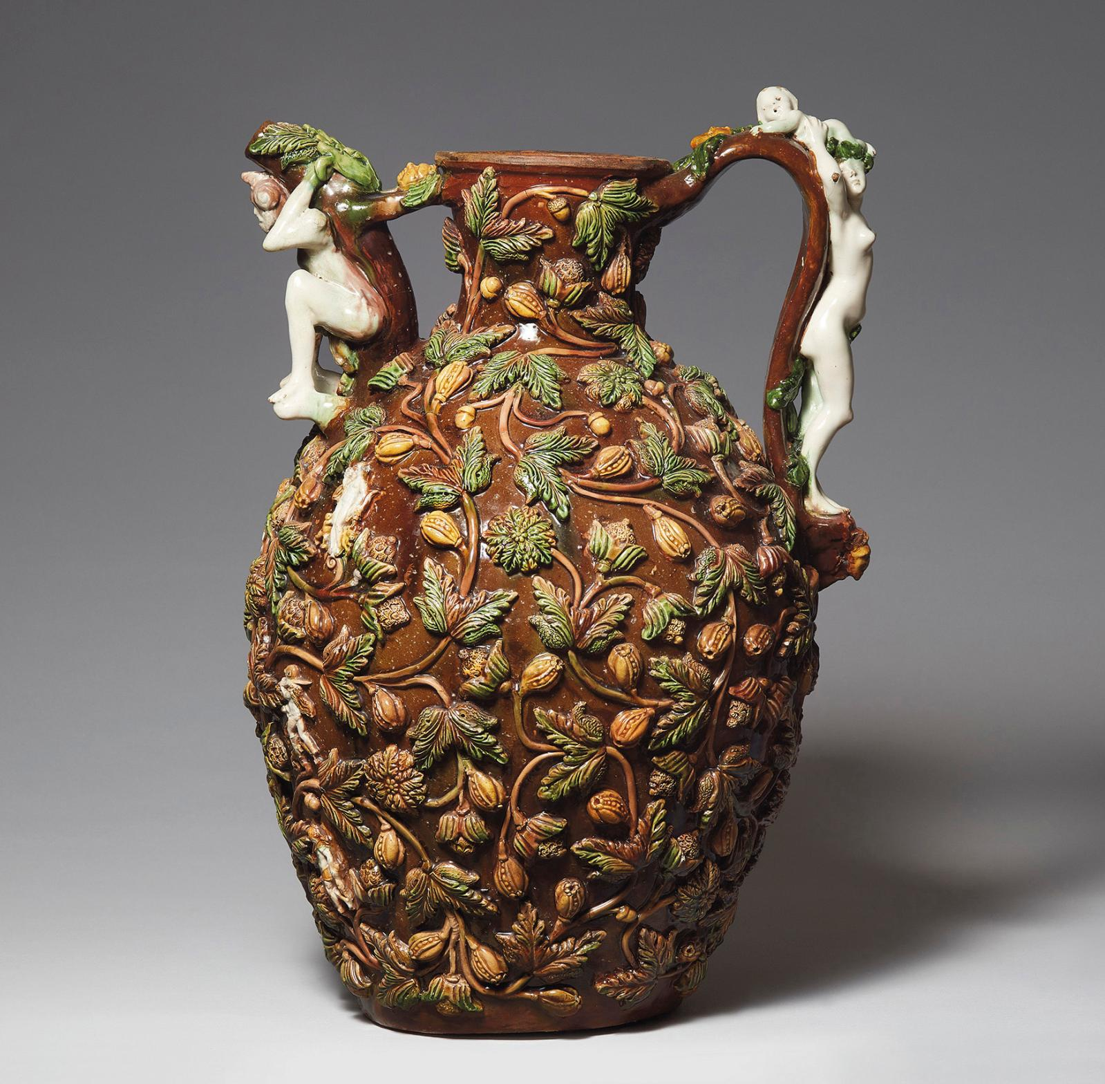 Un suiveur de Palissy Rares sont les créations s'inscrivant dans le goût de Bernard Palissy (vers 1510-1589 ou 1590) à passer sous le marteau. Du haut