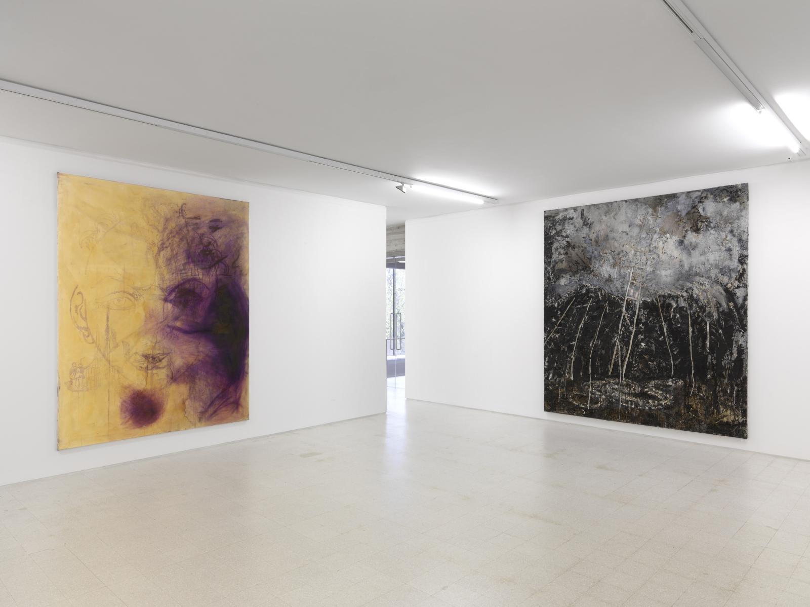 Vue de la collection Maramotti, avec des œuvres des artistes allemandsSigmar Polke et Anselm Kiefer. ©Dario Lasagni