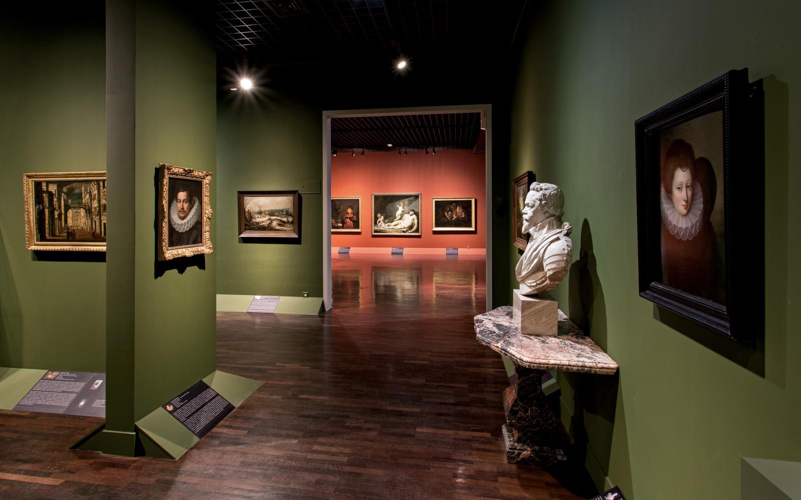 Le deuxième étage du musée des beaux-arts, après rénovation. ©Christophe Camus