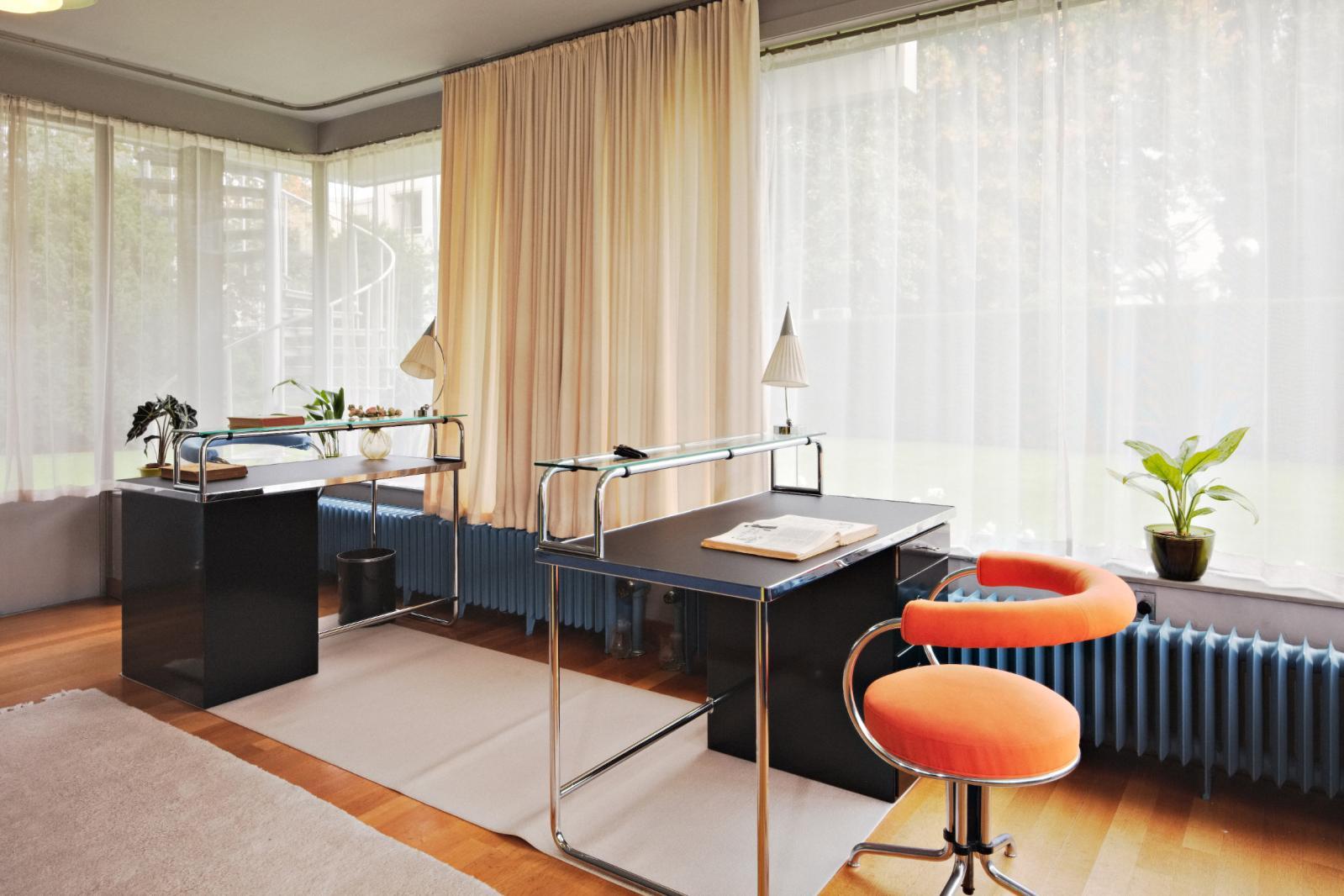 Le bureau.©Photo Johannes Schwartz