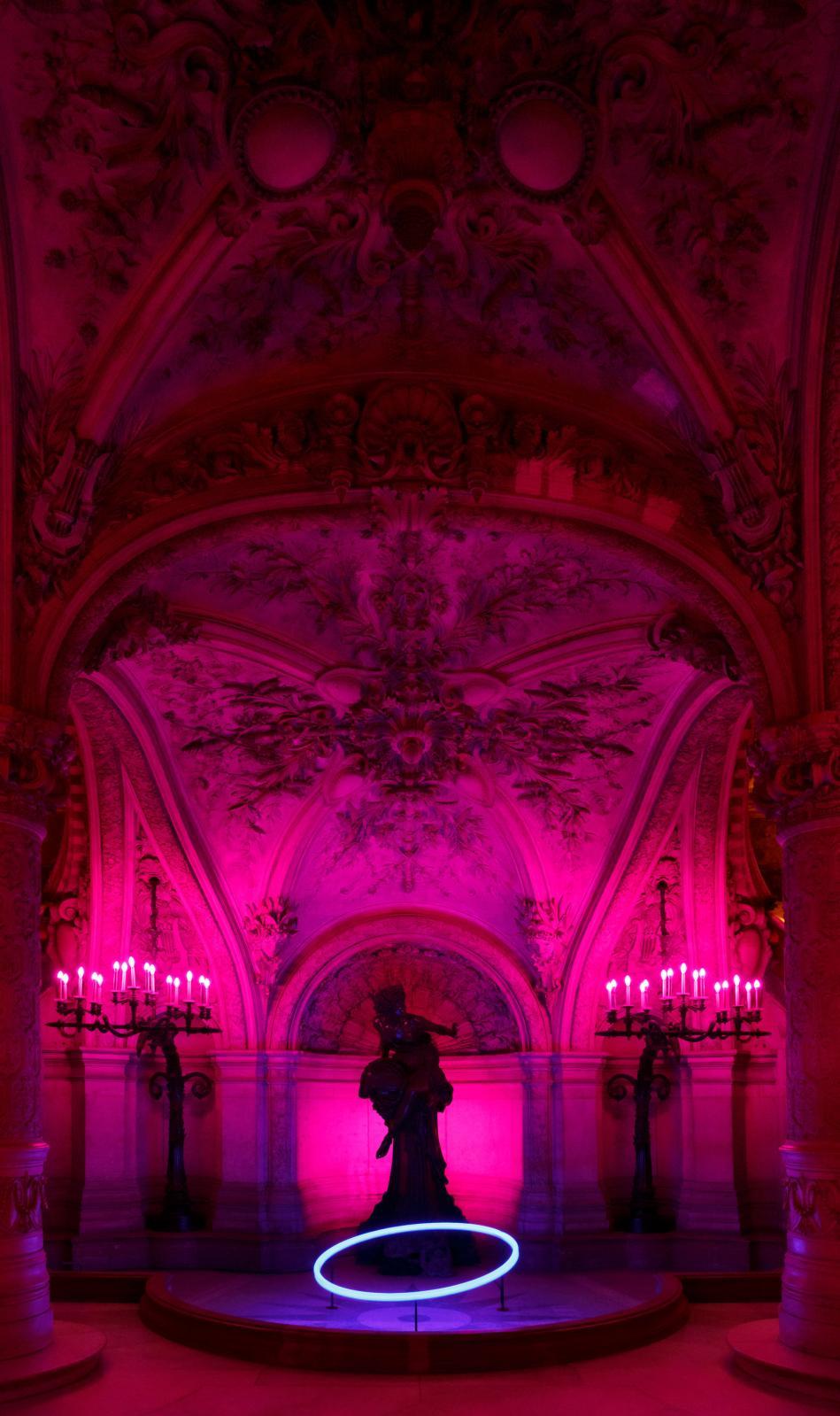 Les Saturnales, Palais Garnier, bassin de la Pythie.