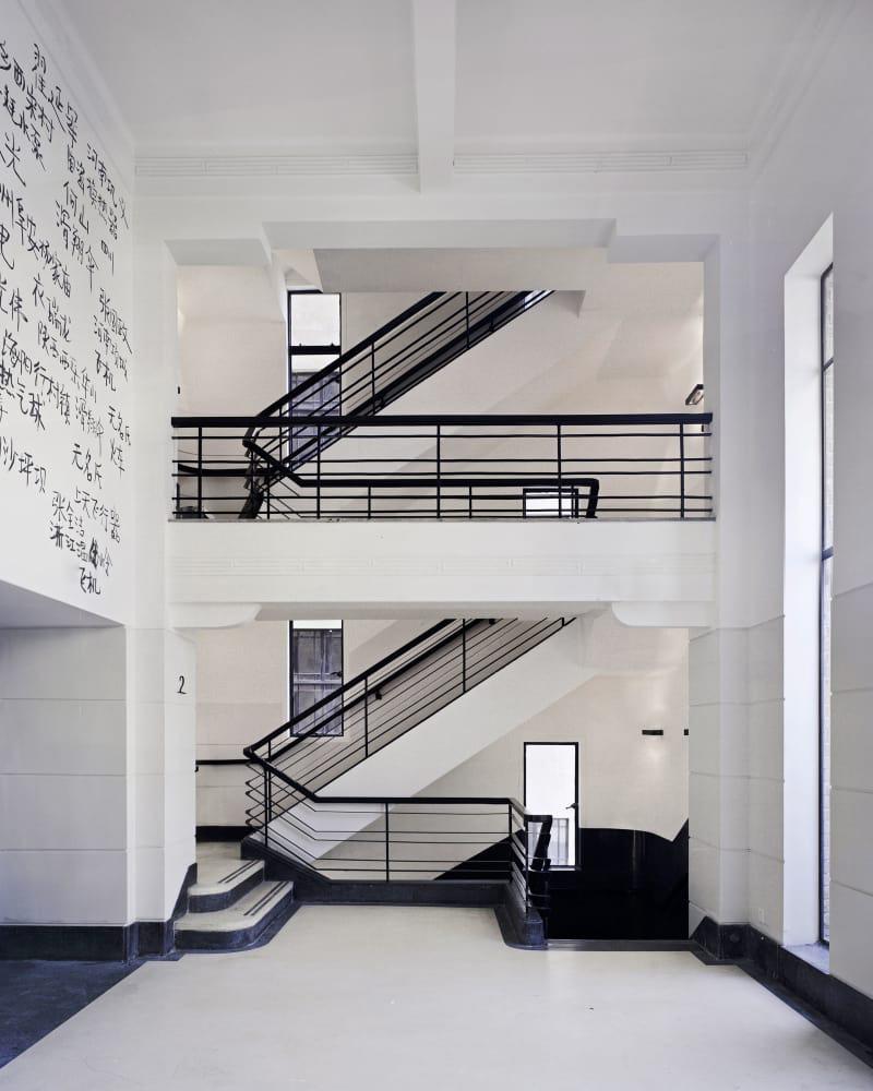 Vue intérieure du RAM. ©David Chipperfield Architects, Simon Menges, Christian Richters Rockbund Project &Rockbund Art Museum