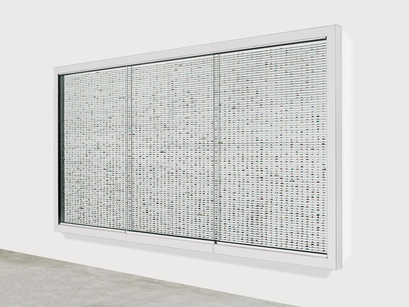 Damien Hirst (né en 1965), The Void, 2000, 235,9 x 470,9 x 10,8 cm. ©DAMIEN HIRST AND SCIENCE LTD.ALL RIGHTS RESERVED, ADAGP, PARIS, 2017