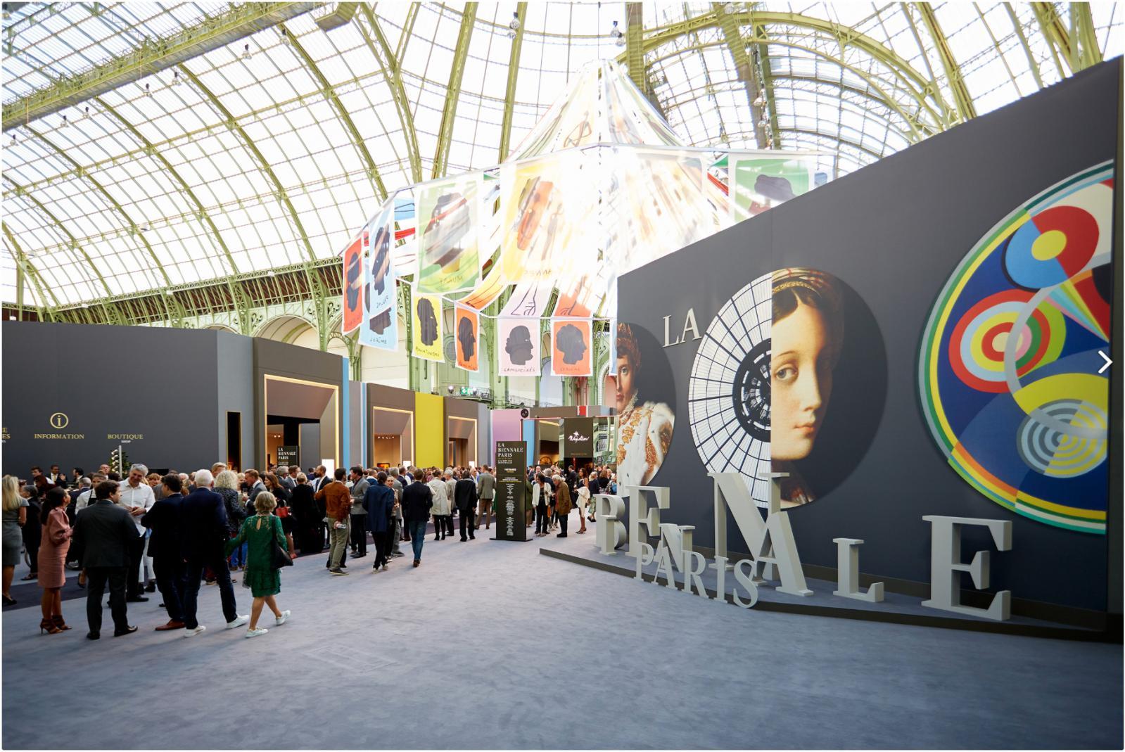 Opening, Biennale Paris (2018).