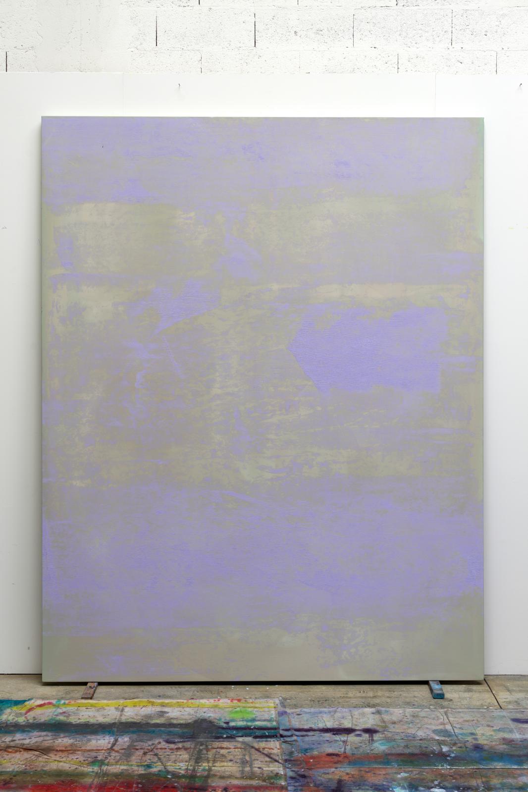 Sans titre, 2019, huile sur toile, 275x215cm.