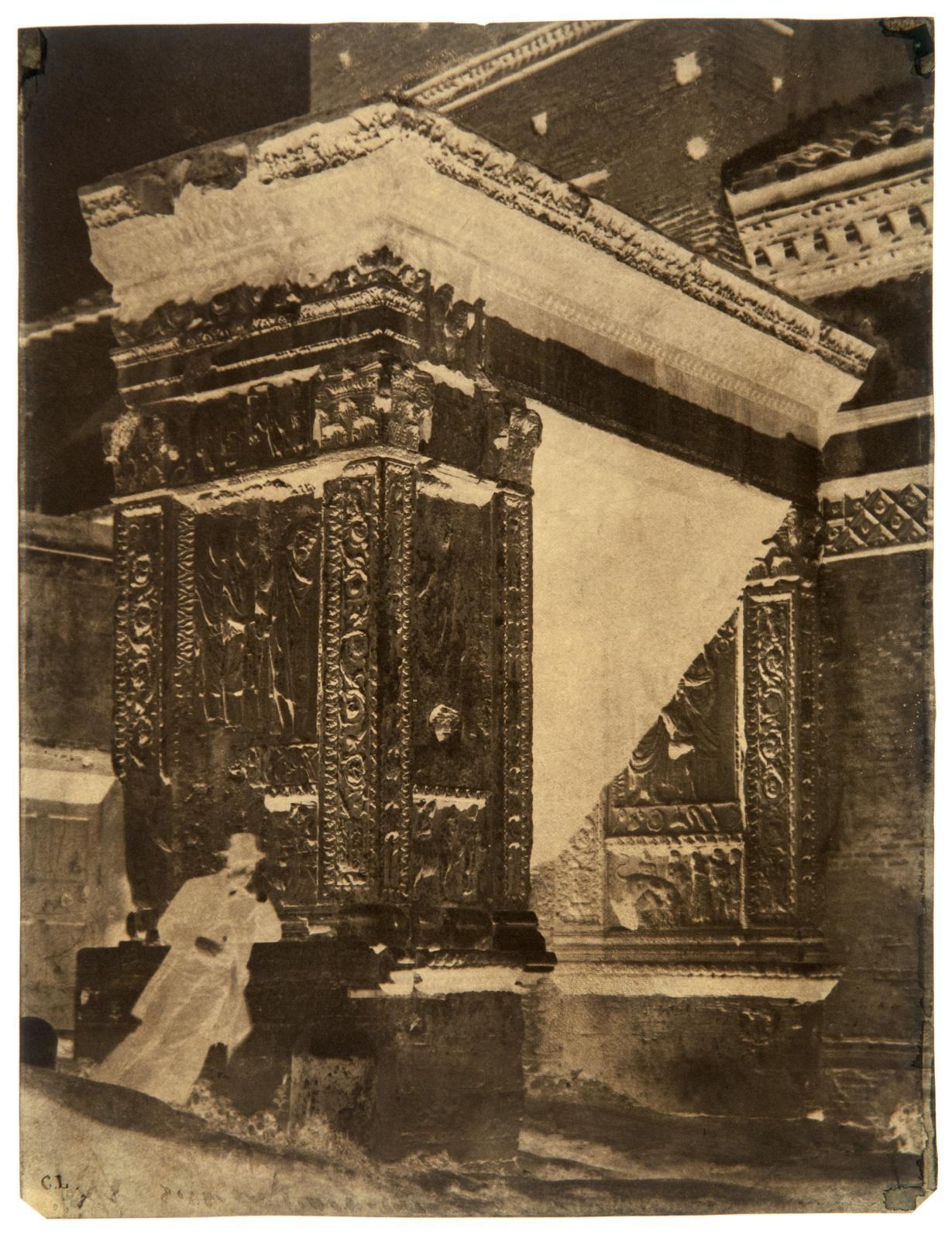 Vues de Rome, vers 1855, important ensemble de 114négatifs papier par C.l.Marseille, 21mai 2011. Leclere maison de ventes OVV. M.Benarroche. Adjug