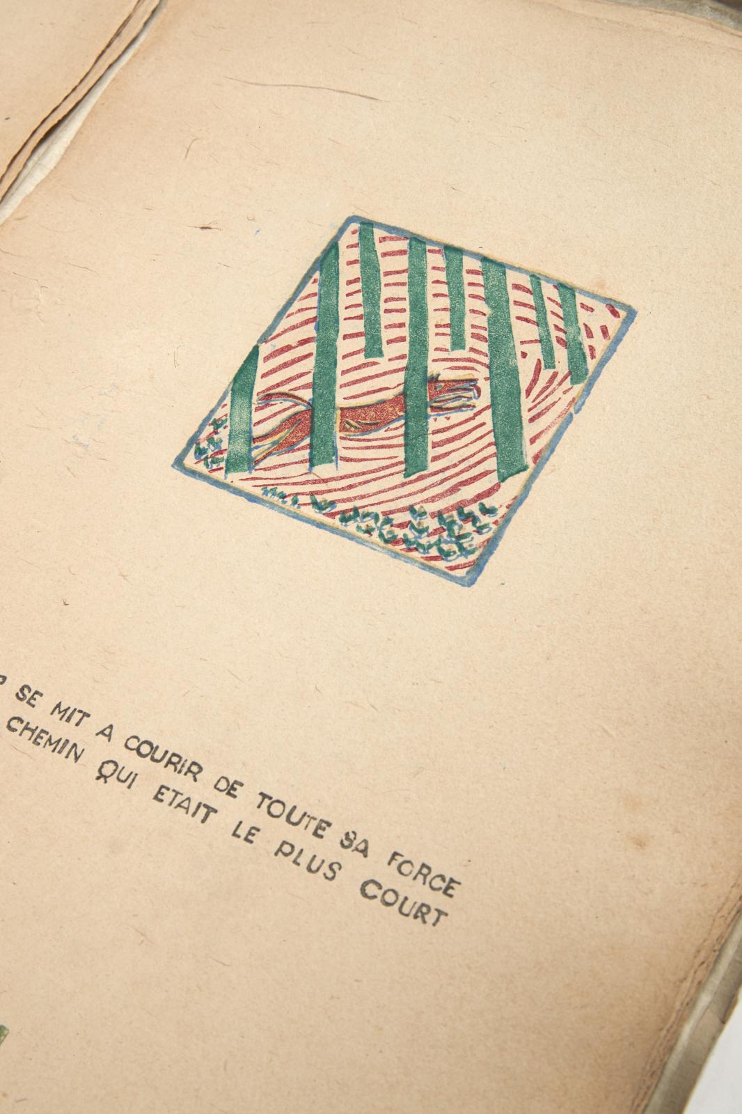 Charles Perrault (1628-1703) Edgard Tytgat (1879-1957). Le Petit Chaperon rouge, Londres, 1917. Exemplaire de la première édition, d'un tirage à 15, g