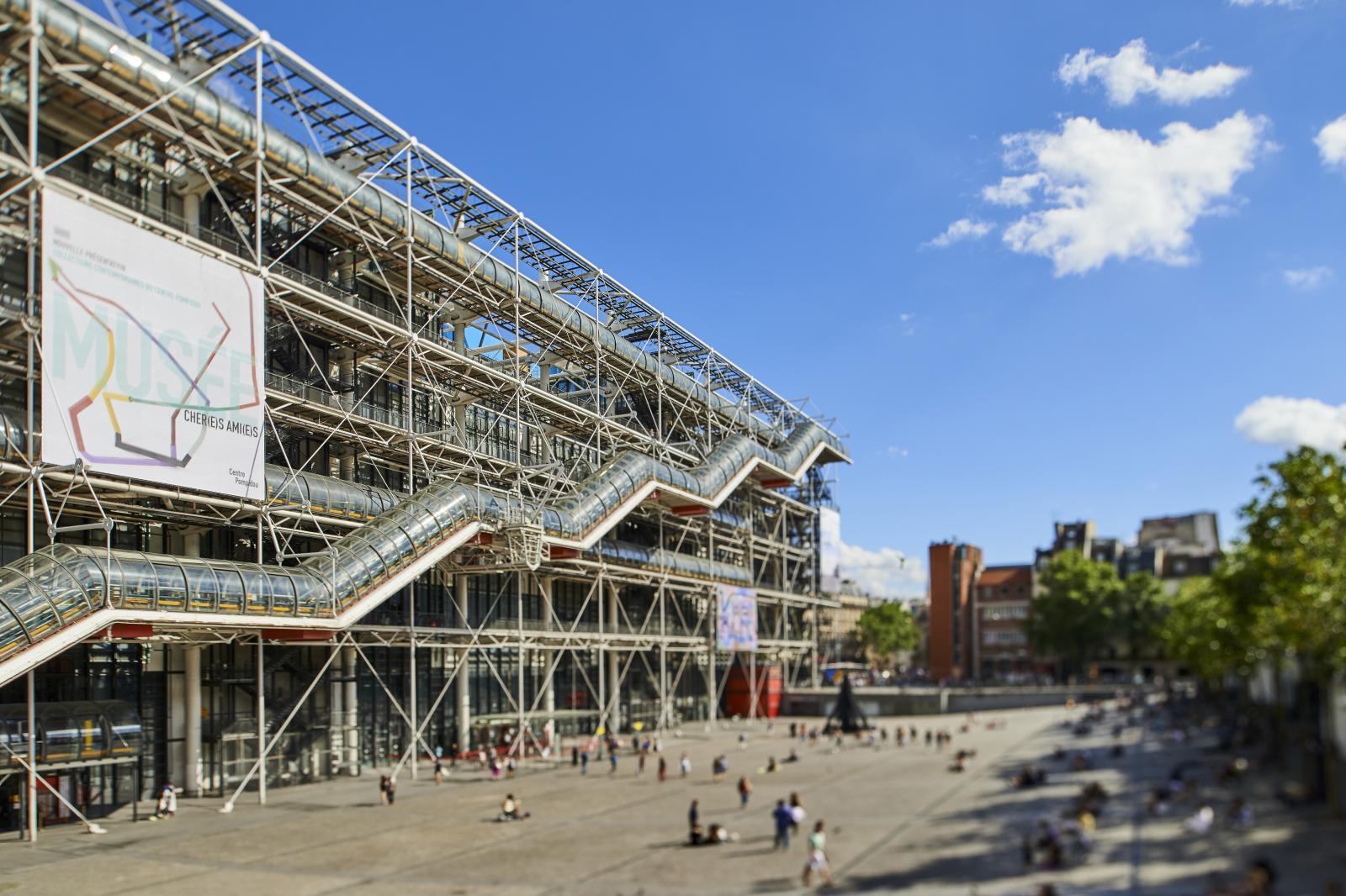 Le Centre Pompidou.