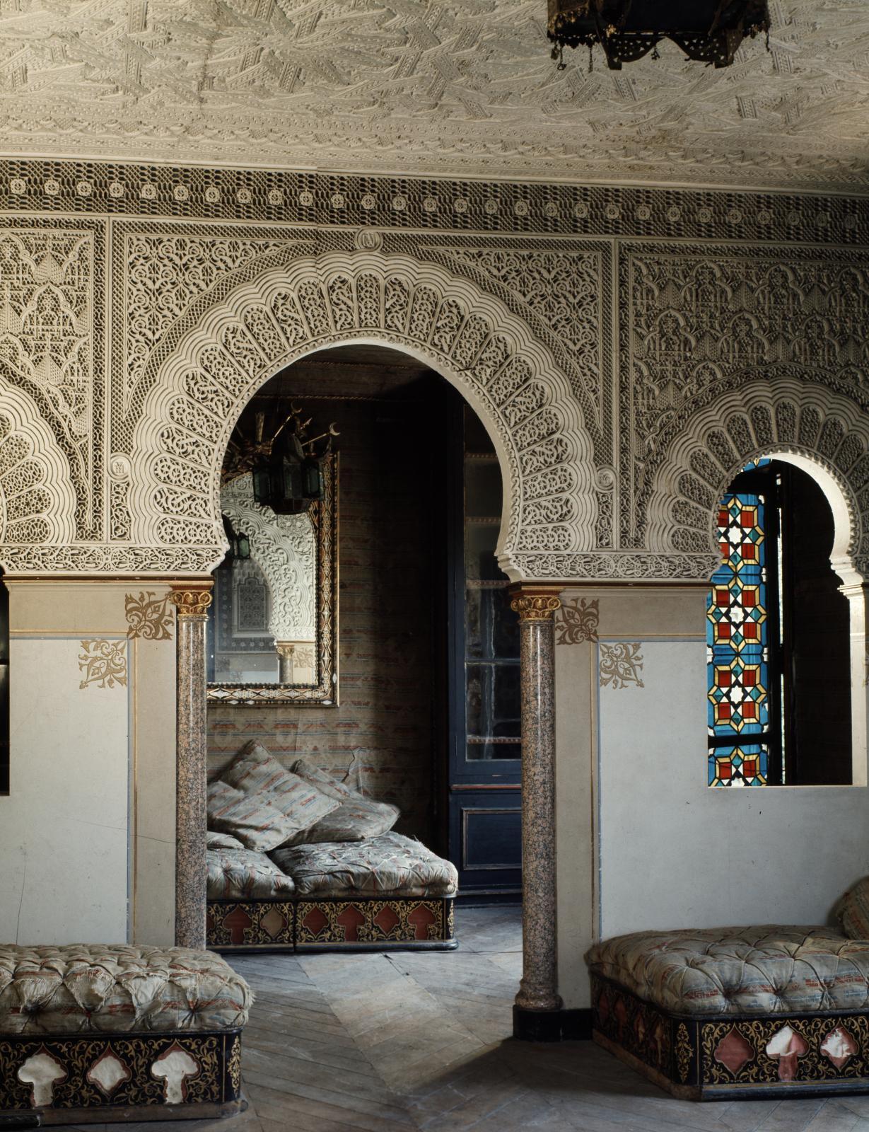 Le salon mauresque, château de Monte-Cristo. ©akg-images/cda/guillot