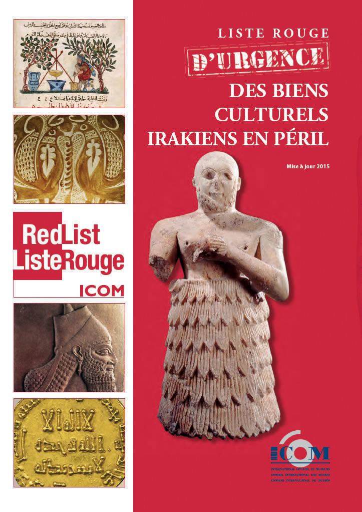 La liste rouge d'urgence des biens culturels irakiens en péril a été publiée en 2015 par l'ICOM.
