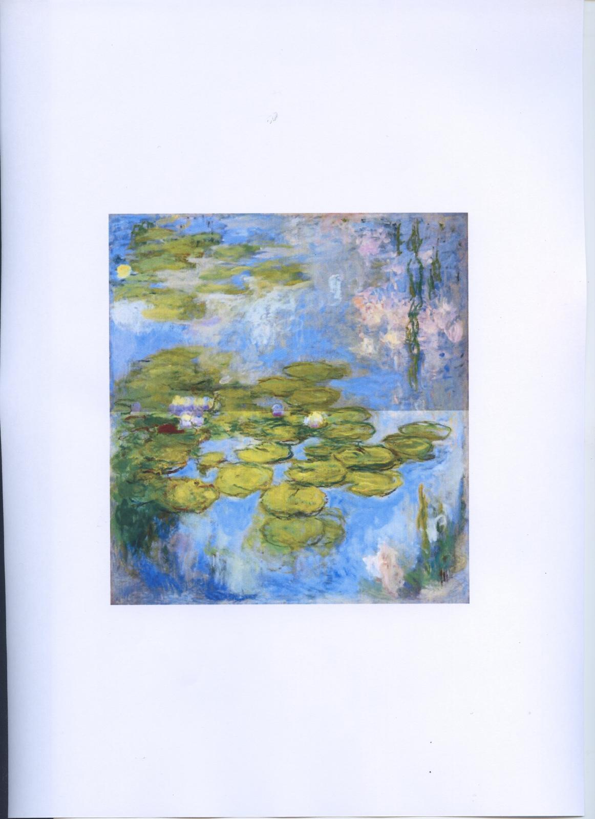 Claude Monet(1840-1926), LesNymphéas, 1916-1919, huile sur toile, 200x180cm, fondation Beyeler, Riehen/Bâle, collectionBeyeler.