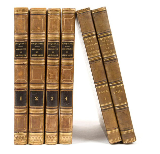 €9,500Alexis de Tocqueville (1805-1859), De la démocratie en Amérique, Paris, Gosselin, Coquebert, 1838-1840, first edition (vols. 3 and 4), sixth edi