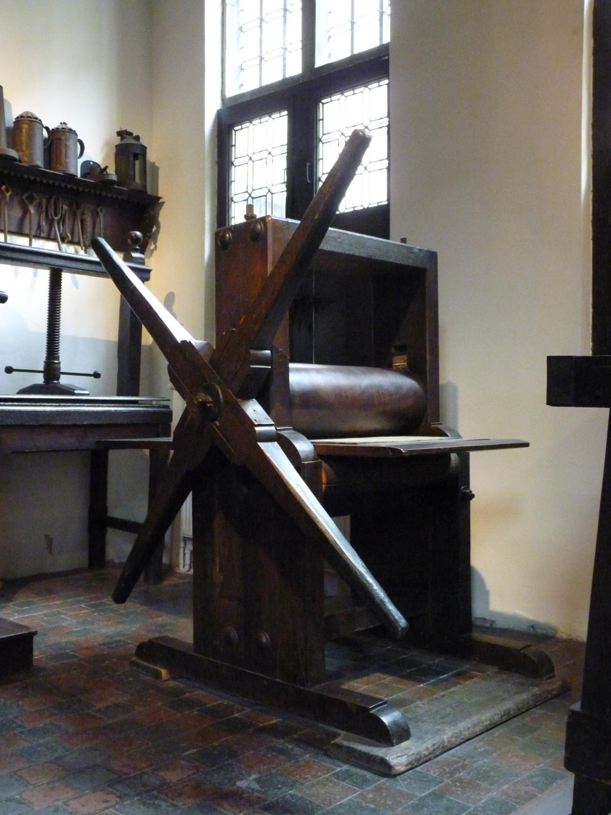 L'imprimerie de Christophe Plantin, dite l'Officina Plantiniana.