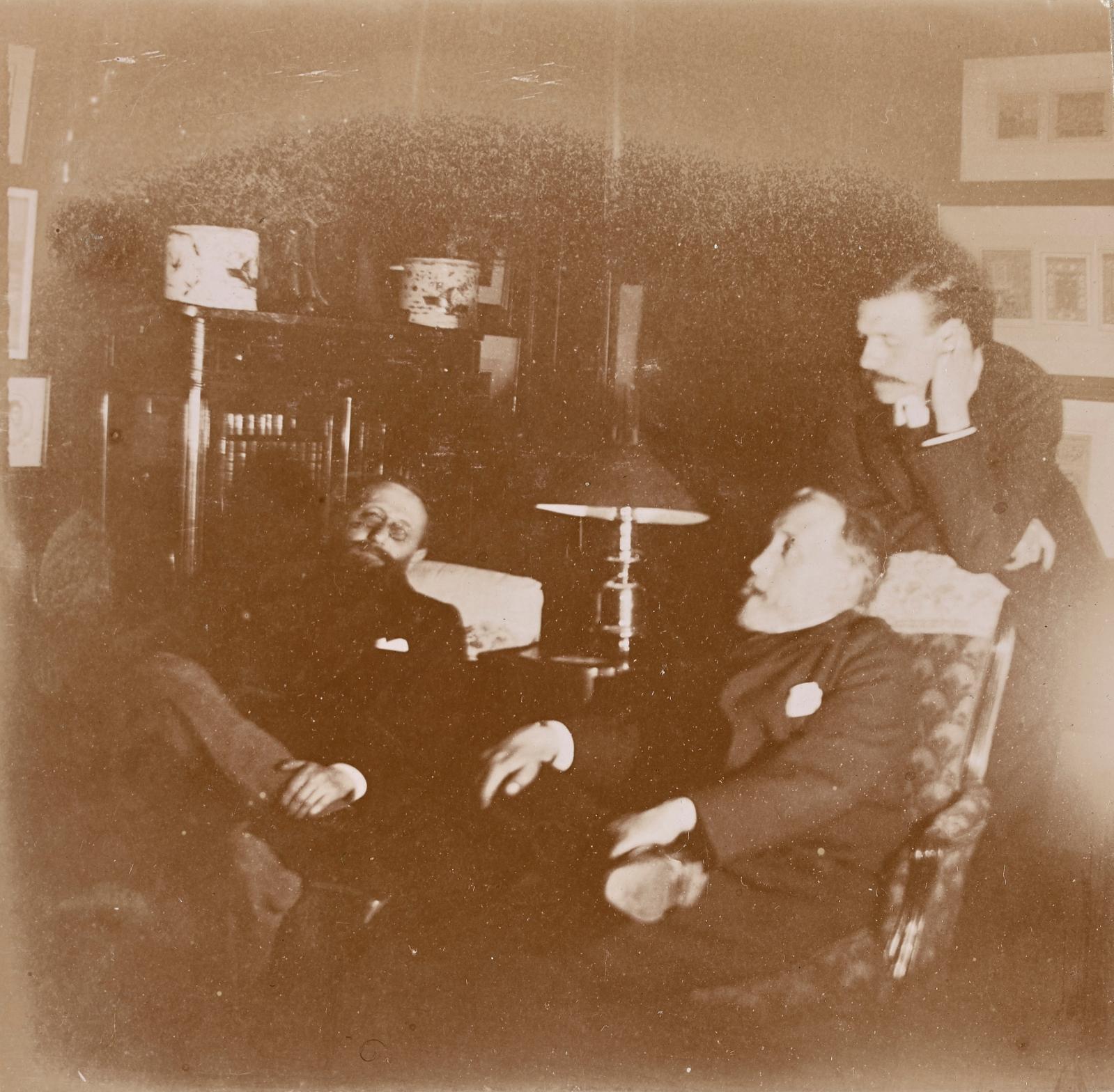 Edgar Degas, Jules Taschereau, Jacques-Émile Blanche, Edgar Degas, Paris, mi-décembre1895, 8x8,2cm.