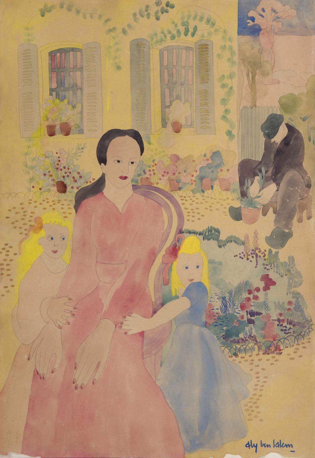 Aly Ben Salem(1910-2001), Sans titre, collection particulière. DR